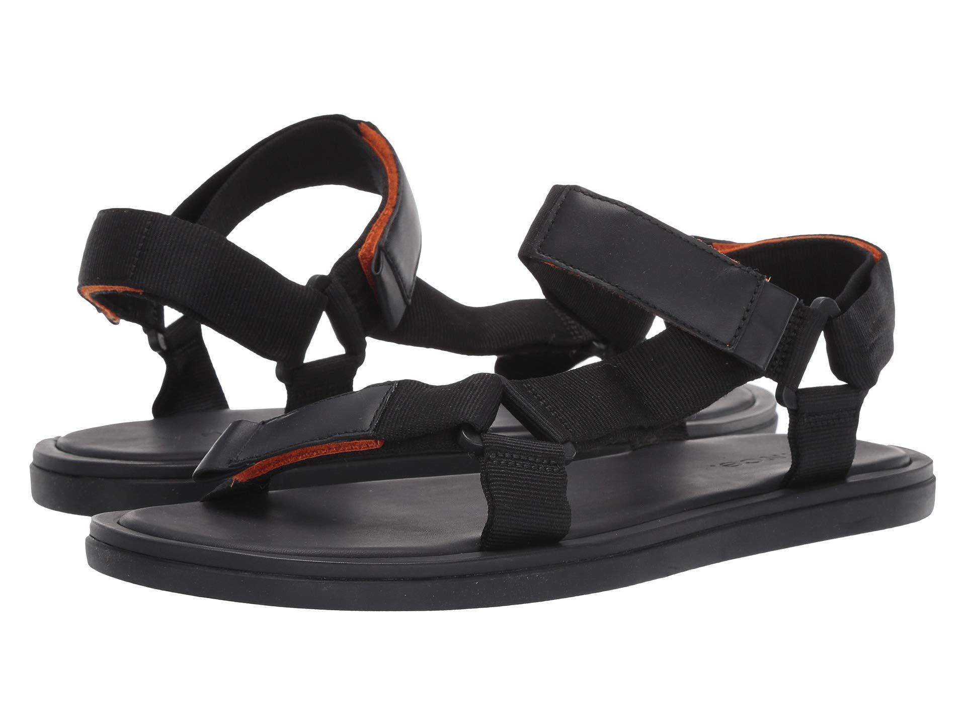 44b4d8842 Lyst - Vince Men s Destin Velcro Strap Walking Sandals in Black for Men