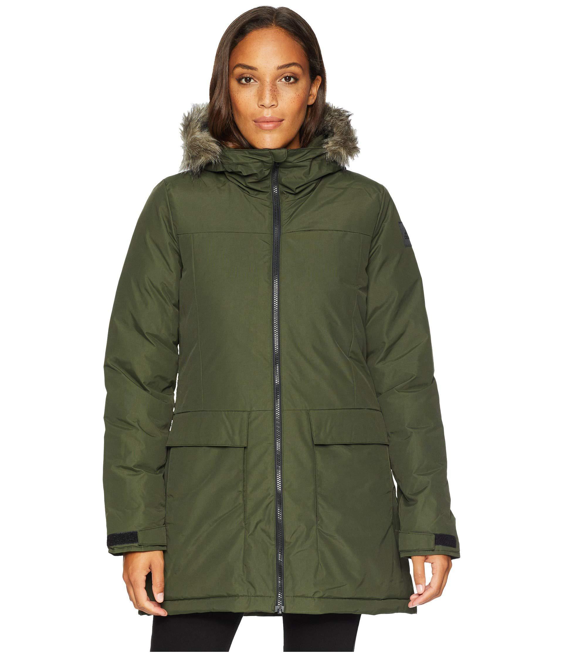 2a248615f66a Lyst - adidas Originals Xploric Parka (black) Women s Coat in Green