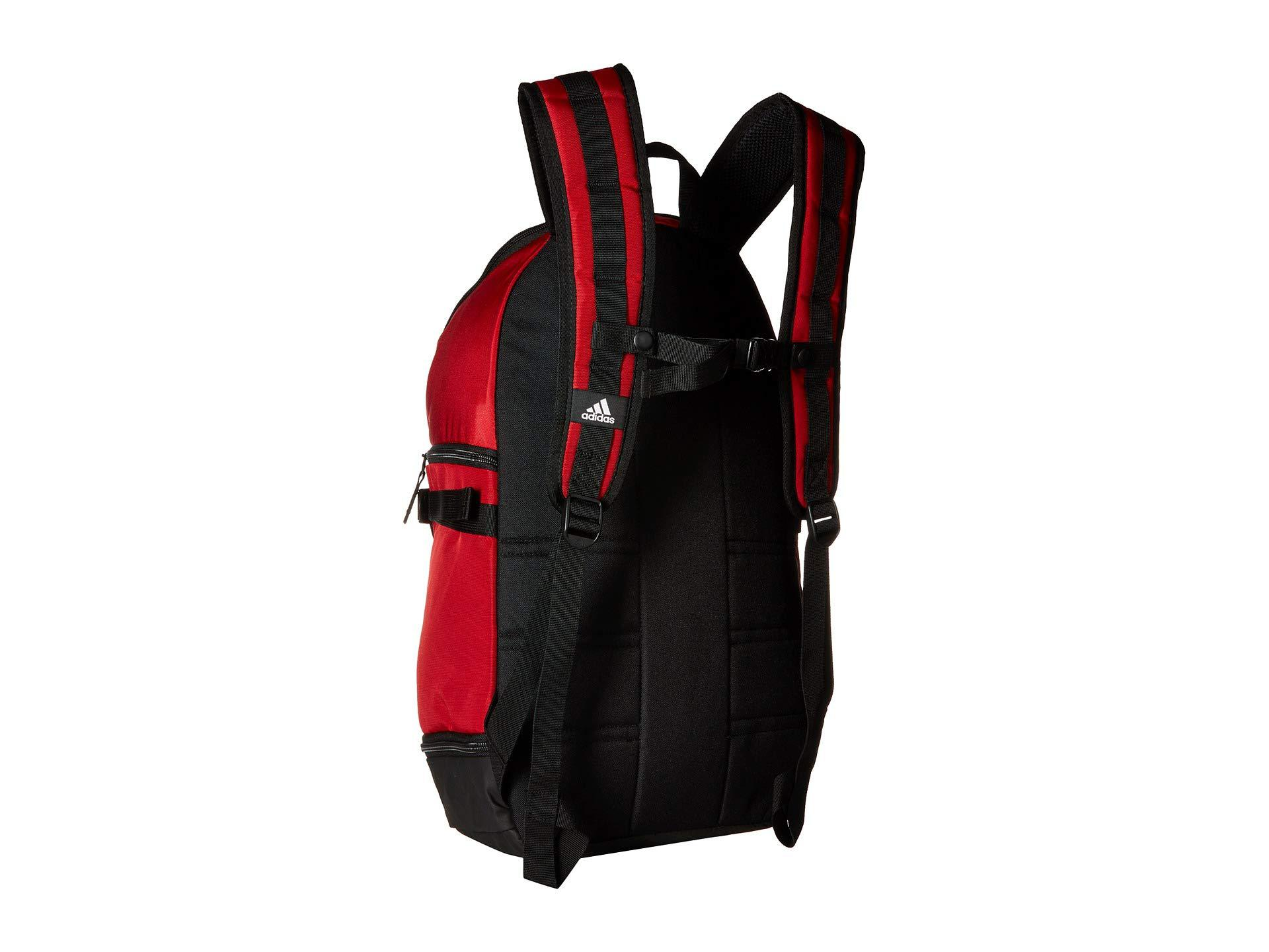 e09c84767ab4 Adidas - Red Creator 365 Basketball Backpack (black) Backpack Bags for Men  - Lyst. View fullscreen