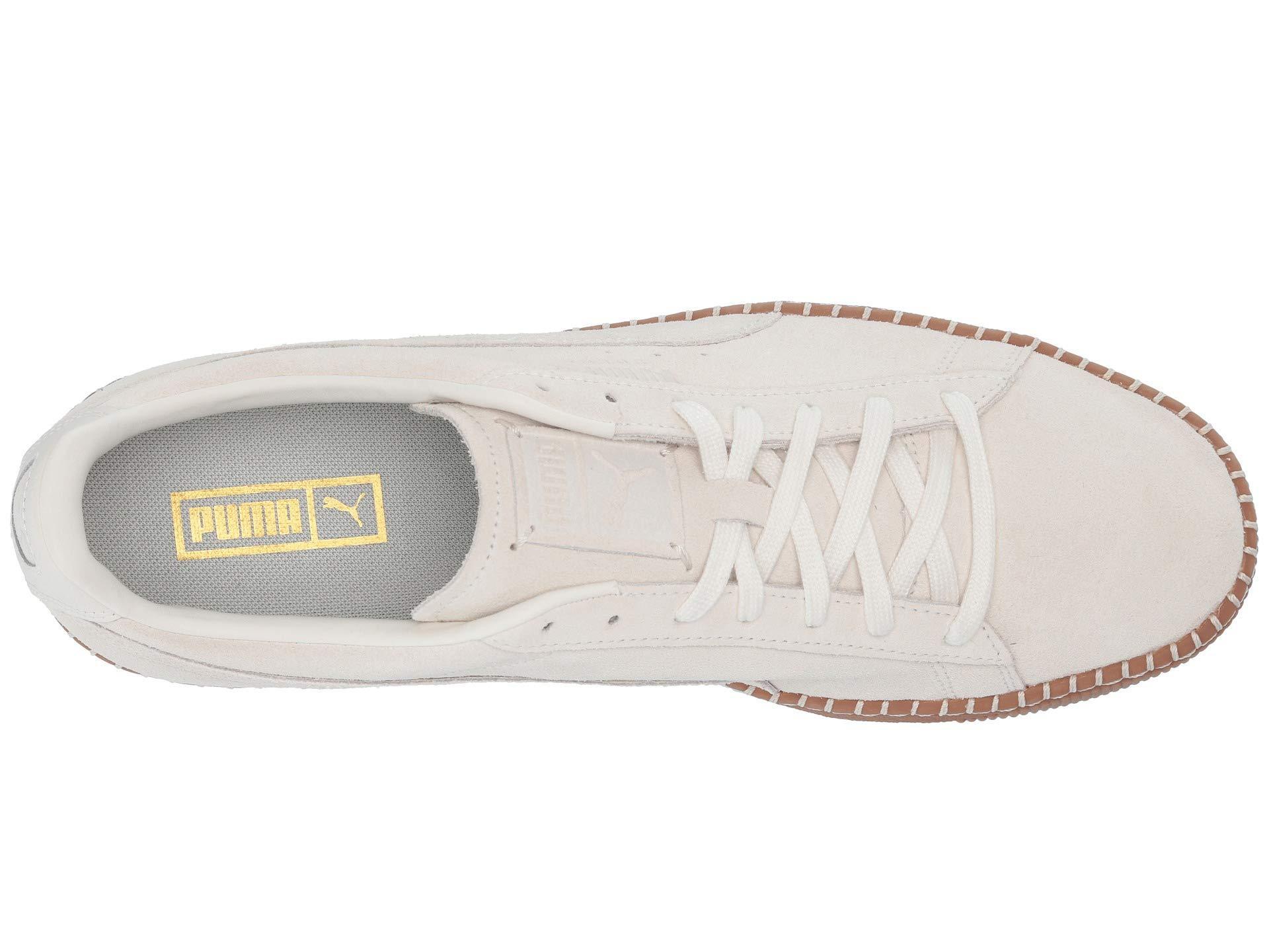 4062ca20526 Lyst - PUMA Suede Classic Blanket Stitch (whisper White gum) Shoes ...