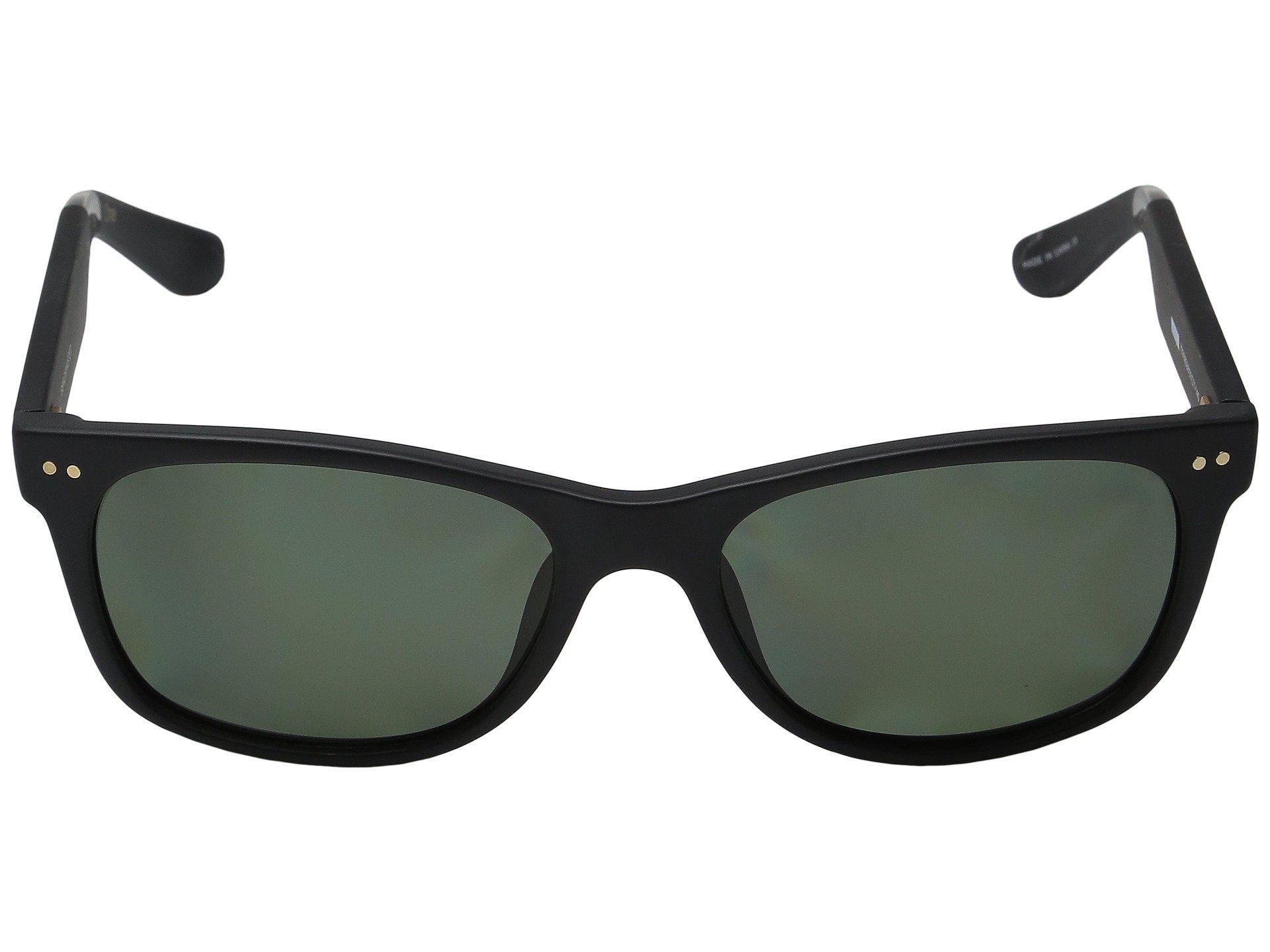 91803400f50b TOMS - Beachmaster Polarized (matte Black) Fashion Sunglasses - Lyst. View  fullscreen