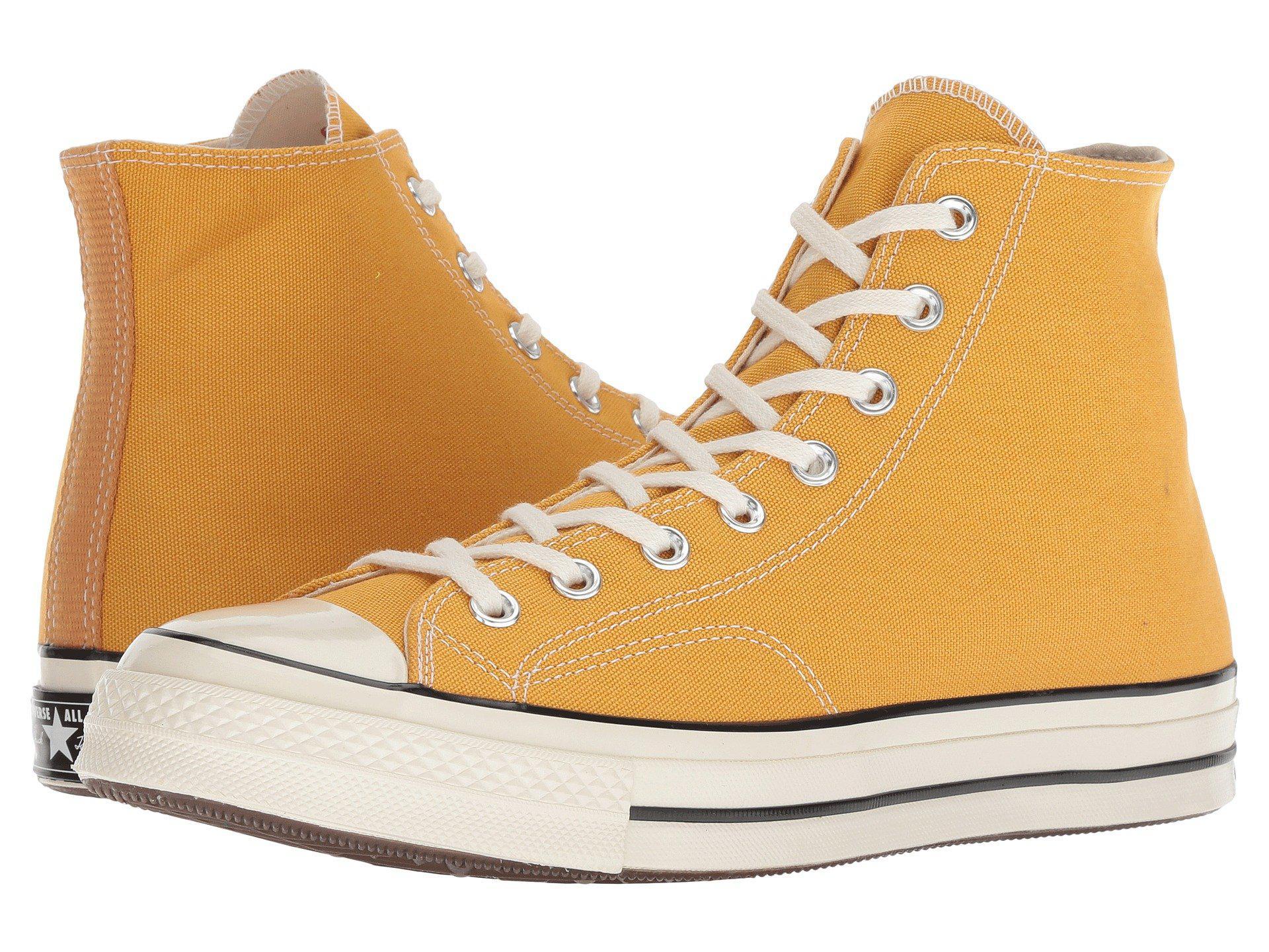 8fcadaf96601 Converse. Men s Chuck Taylor(r) All Star(r)  70 Hi (sunflower black egret)  Athletic Shoes