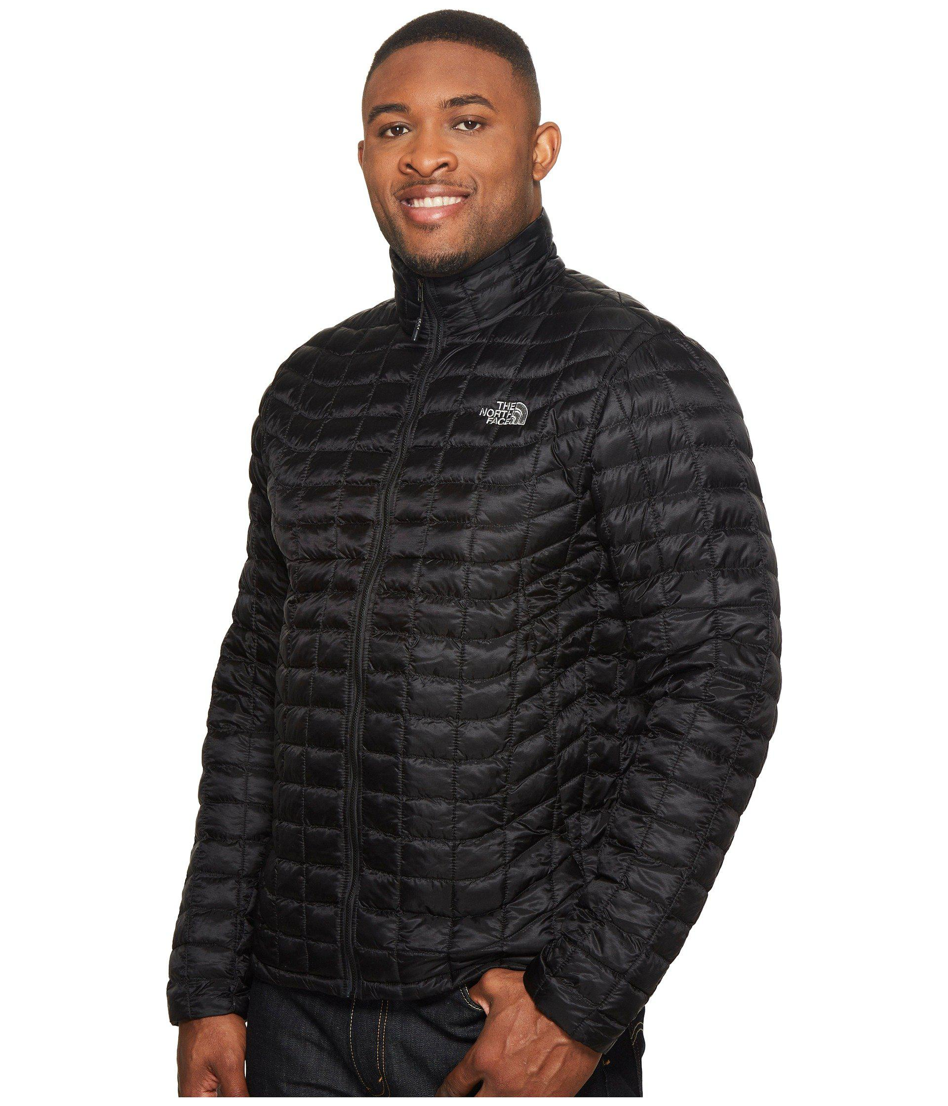 6f91176c3c ... amazon lyst the north face thermoball jacket tall tnf black matte 1 mens  coat in black ...