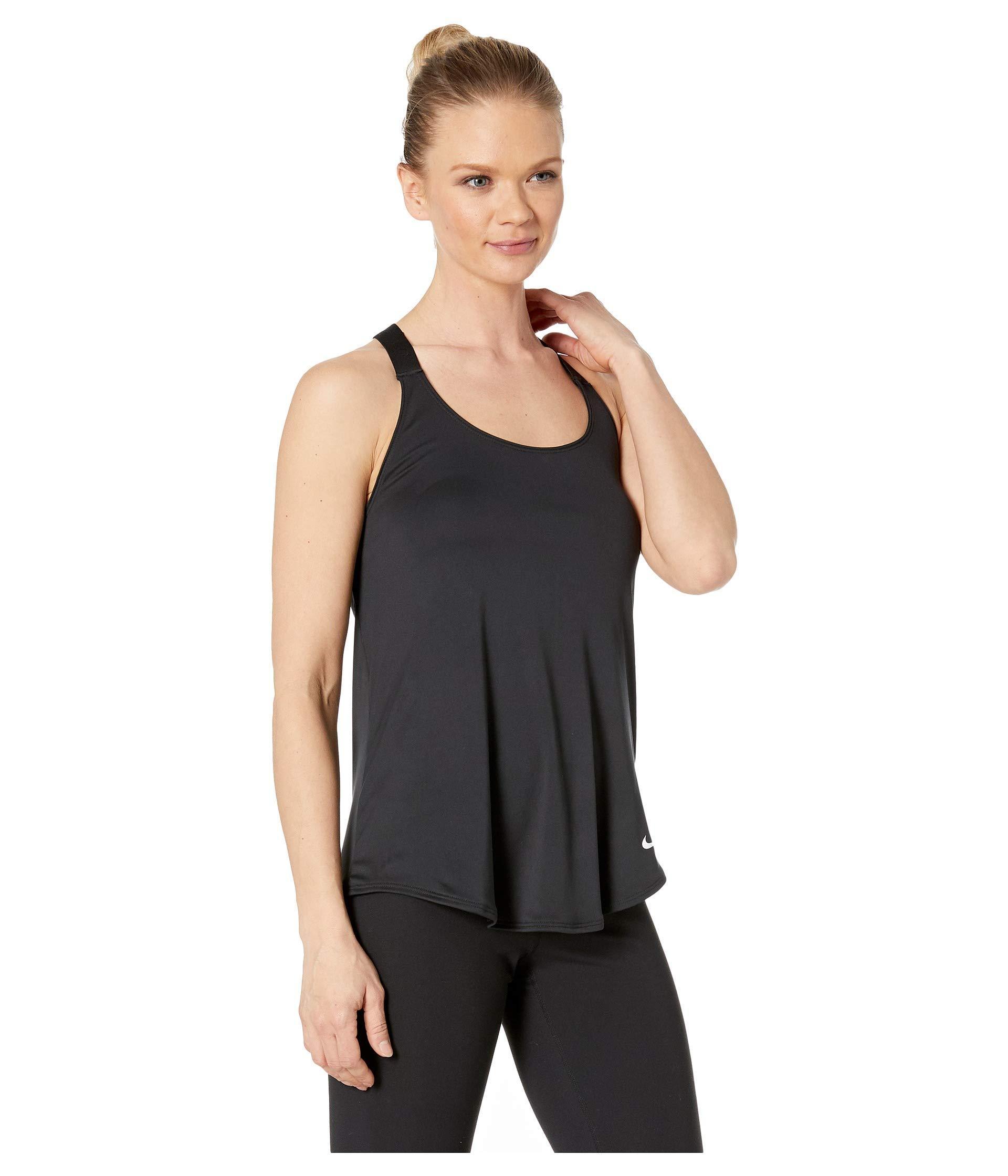 9d581f0fdd65 Nike - Dry Elastika Tank (black black white) Women s Sleeveless - Lyst.  View fullscreen
