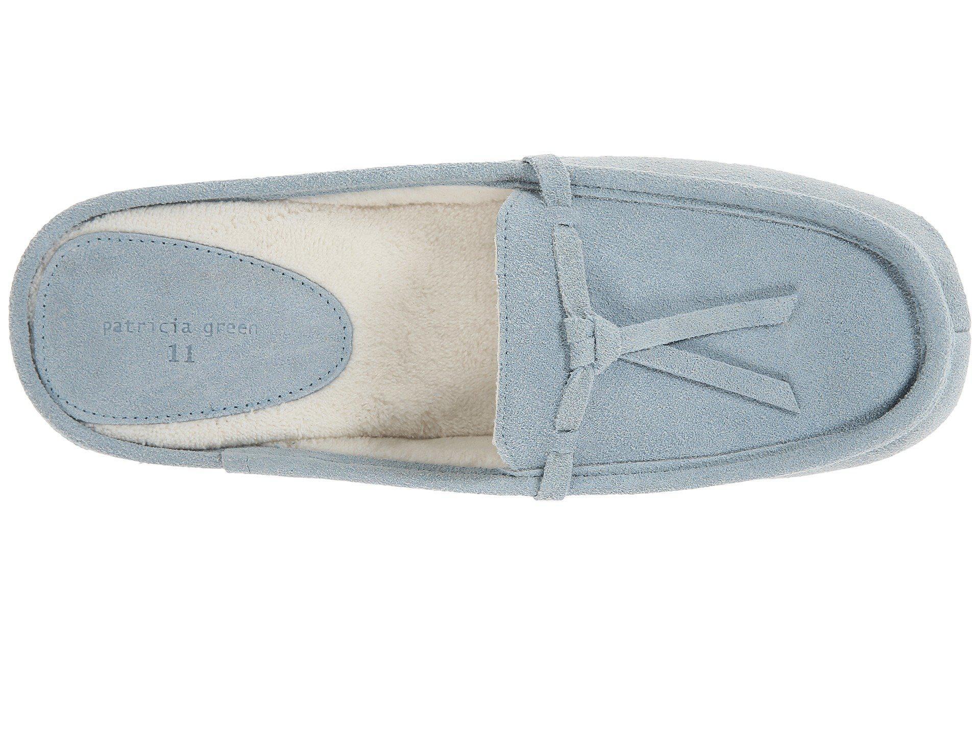 686ca77bf2b3 Patricia Green - Greenwich (light Blue Suede) Women s Slippers - Lyst. View  fullscreen