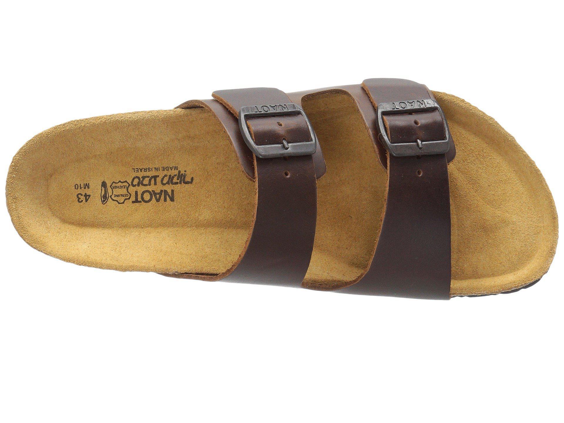 95a2f3b5b5e4 Lyst - Naot Santa Barbara (buffalo Leather) Men s Sandals in Brown ...