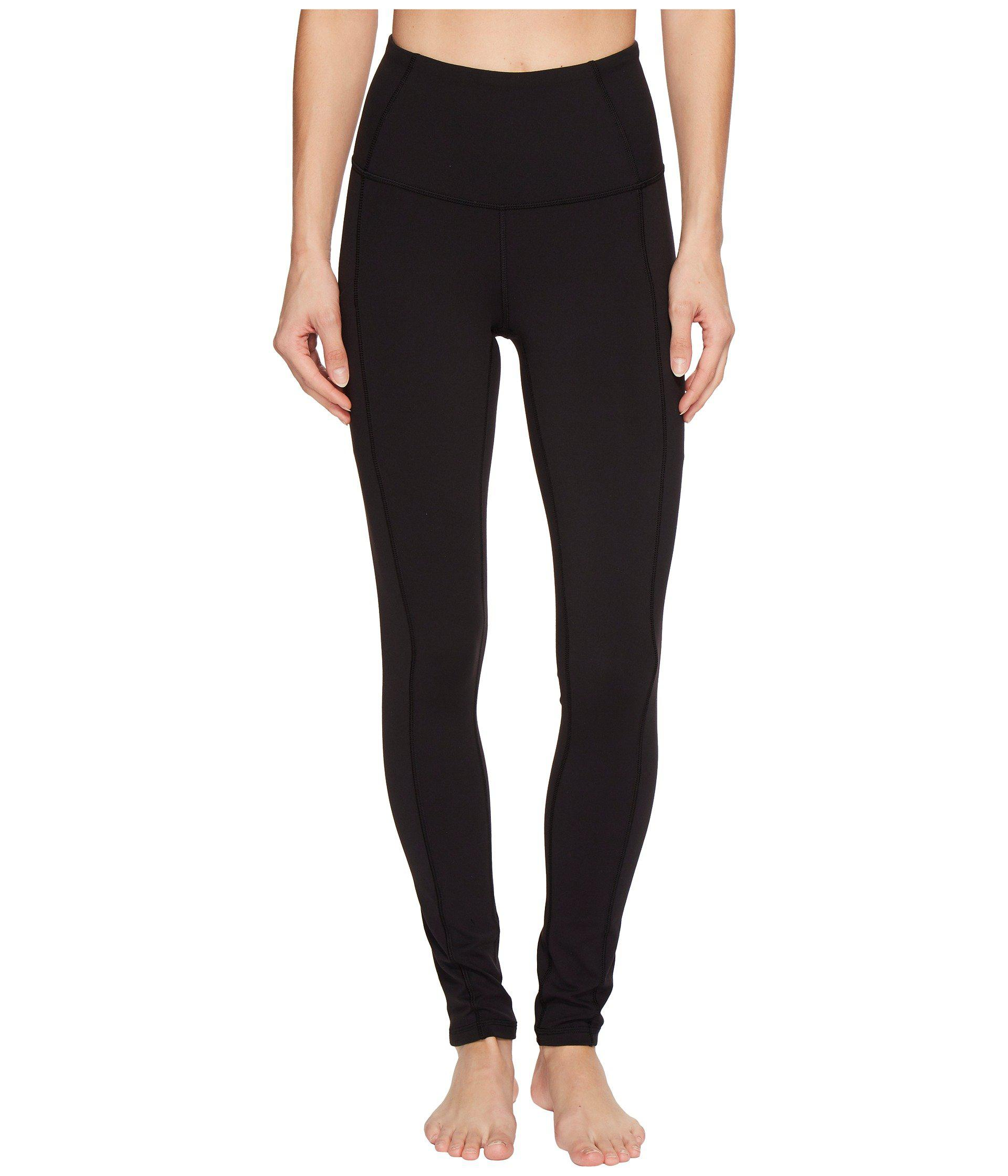 a38e5bbfd75e0 Lyst - The North Face Motivation High-rise Pocket Tights (tnf Black ...