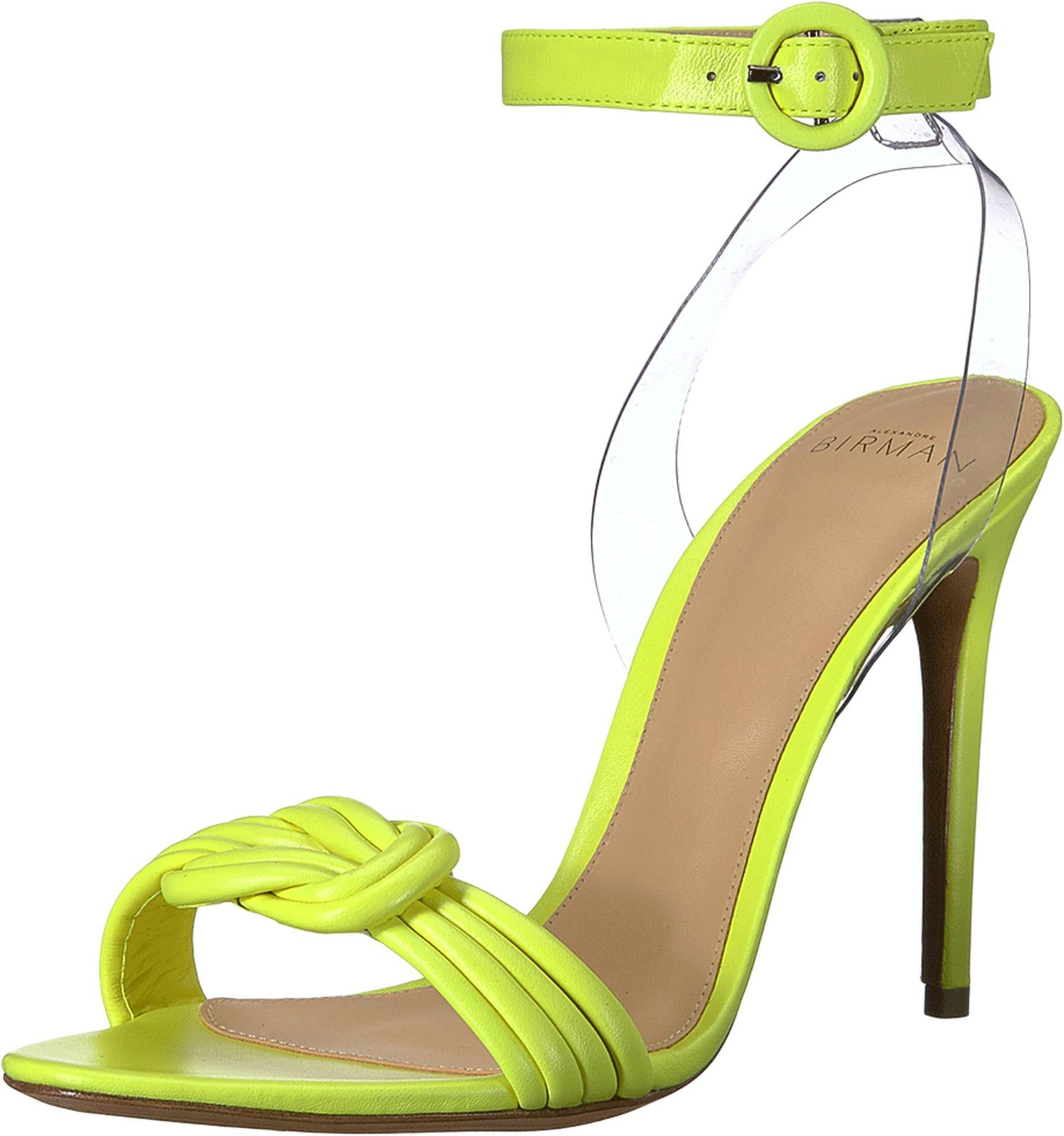 3e8b22886 Alexandre Birman - Yellow 100 Vicky Vinyl Leather - Lyst. View fullscreen
