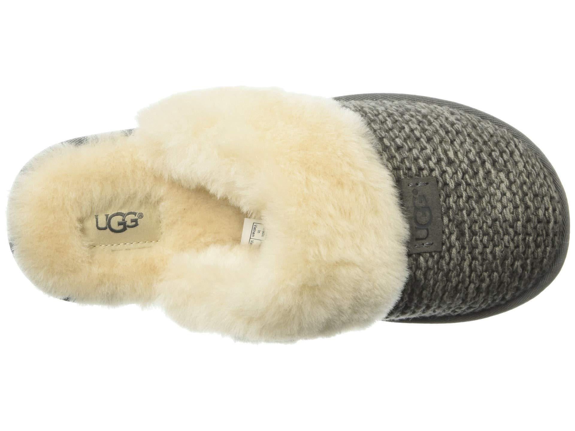 cdeb9d736f4 Ugg - Multicolor Cozy Knit Slipper (black) Women s Slippers - Lyst. View  fullscreen