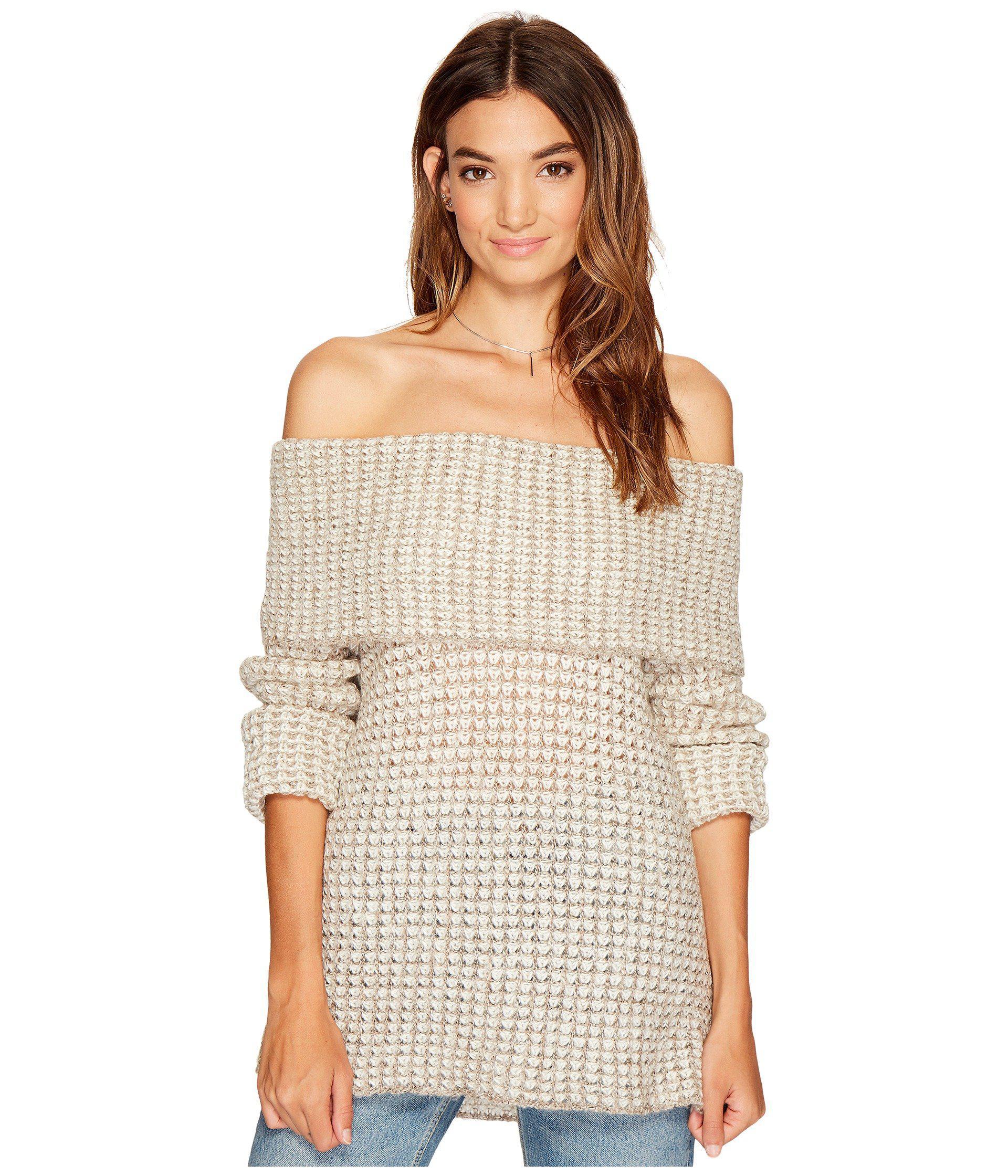 Bb dakota Tegan Off The Shoulder Sweater | Lyst