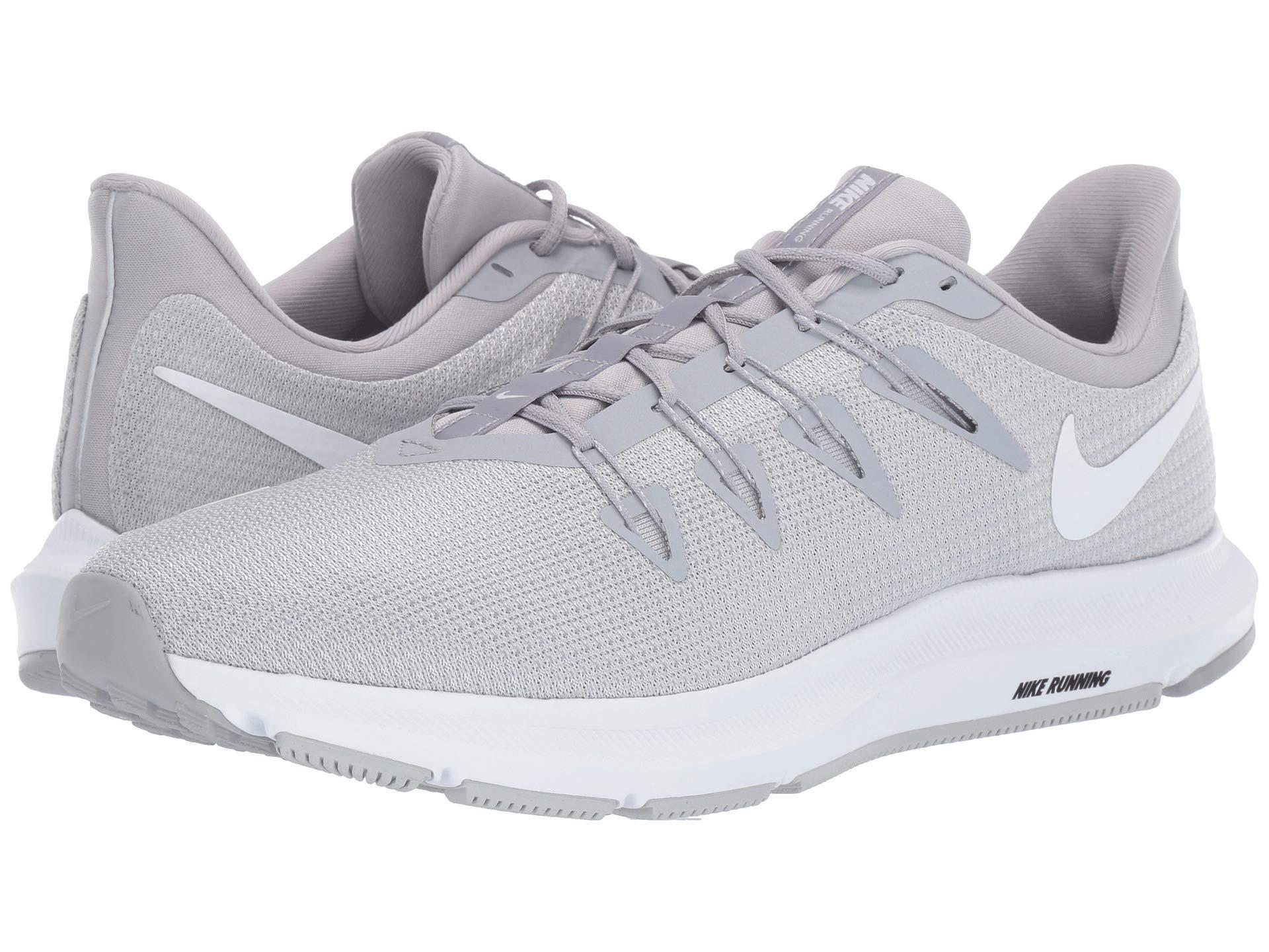 0ad907f39ec32 Lyst - Nike Quest (cool Grey lime Blast black white) Men s Running ...