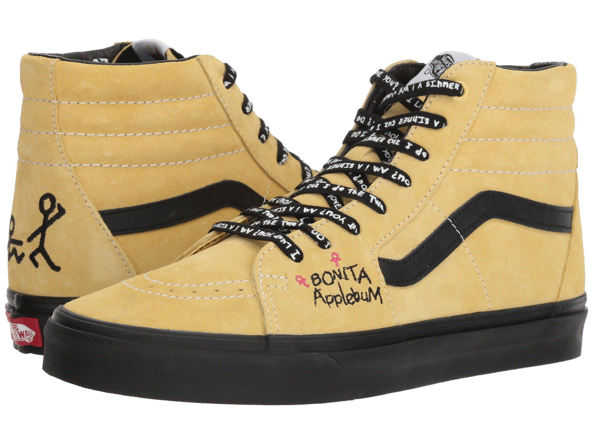 Lyst - Vans Sk8-hi X A Tribe Called Quest Collab. (mellow Yellow ... 86ca8125b