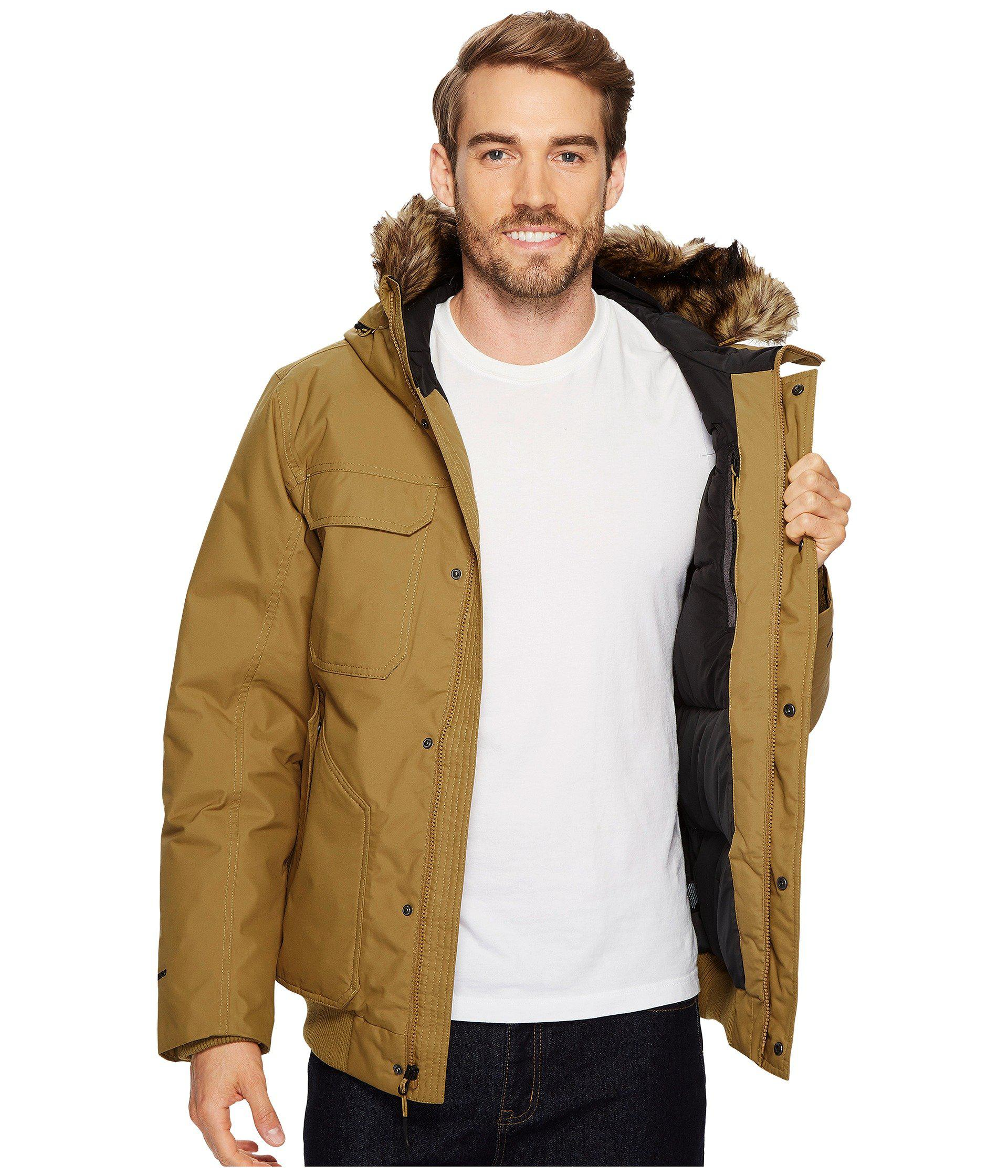65a09ca33fe2 Lyst - The North Face Gotham Jacket Iii (brownie Brown) Men s Coat ...