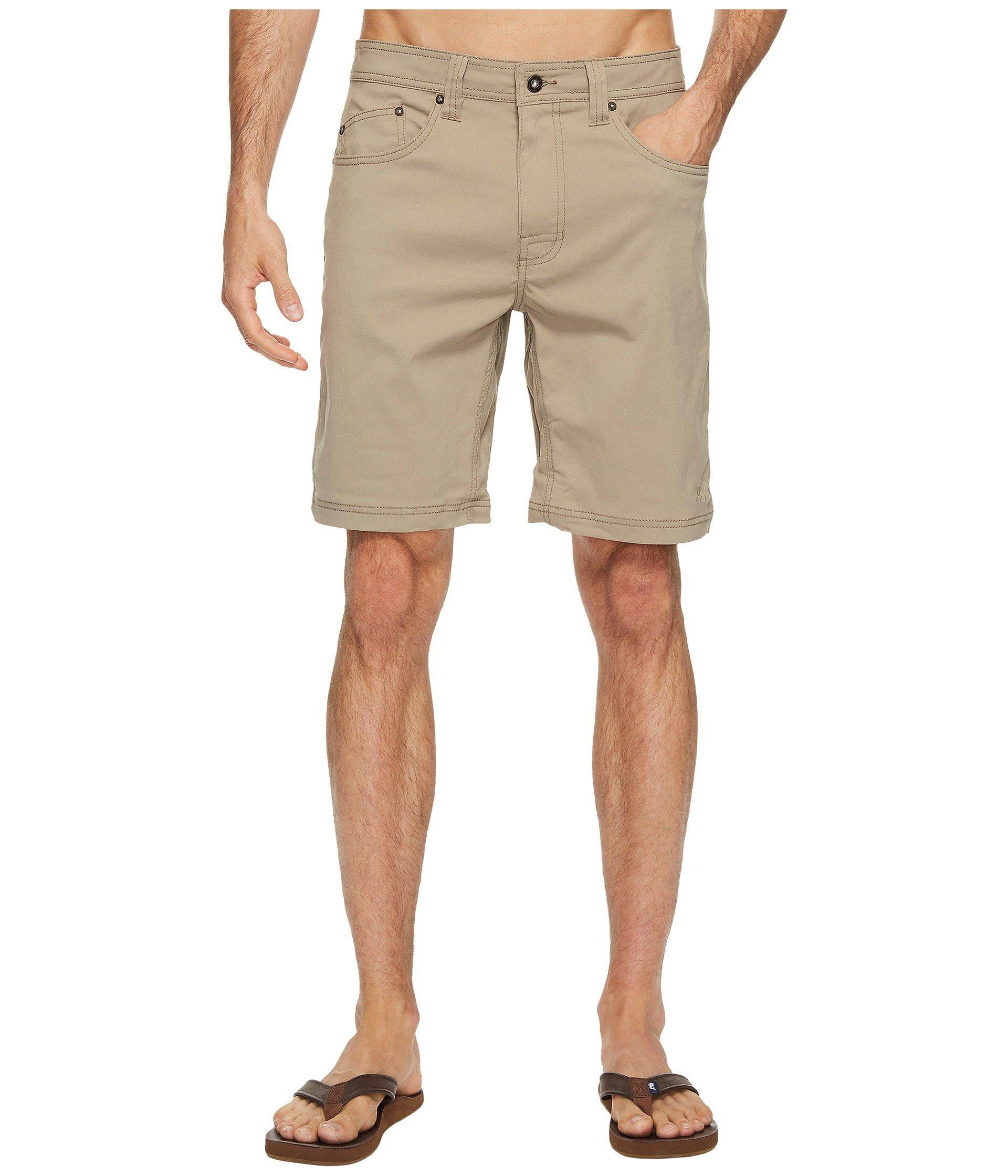 f5cc68cc70 Prana Brion 9 Short (aloe) Men's Shorts in Natural for Men - Lyst