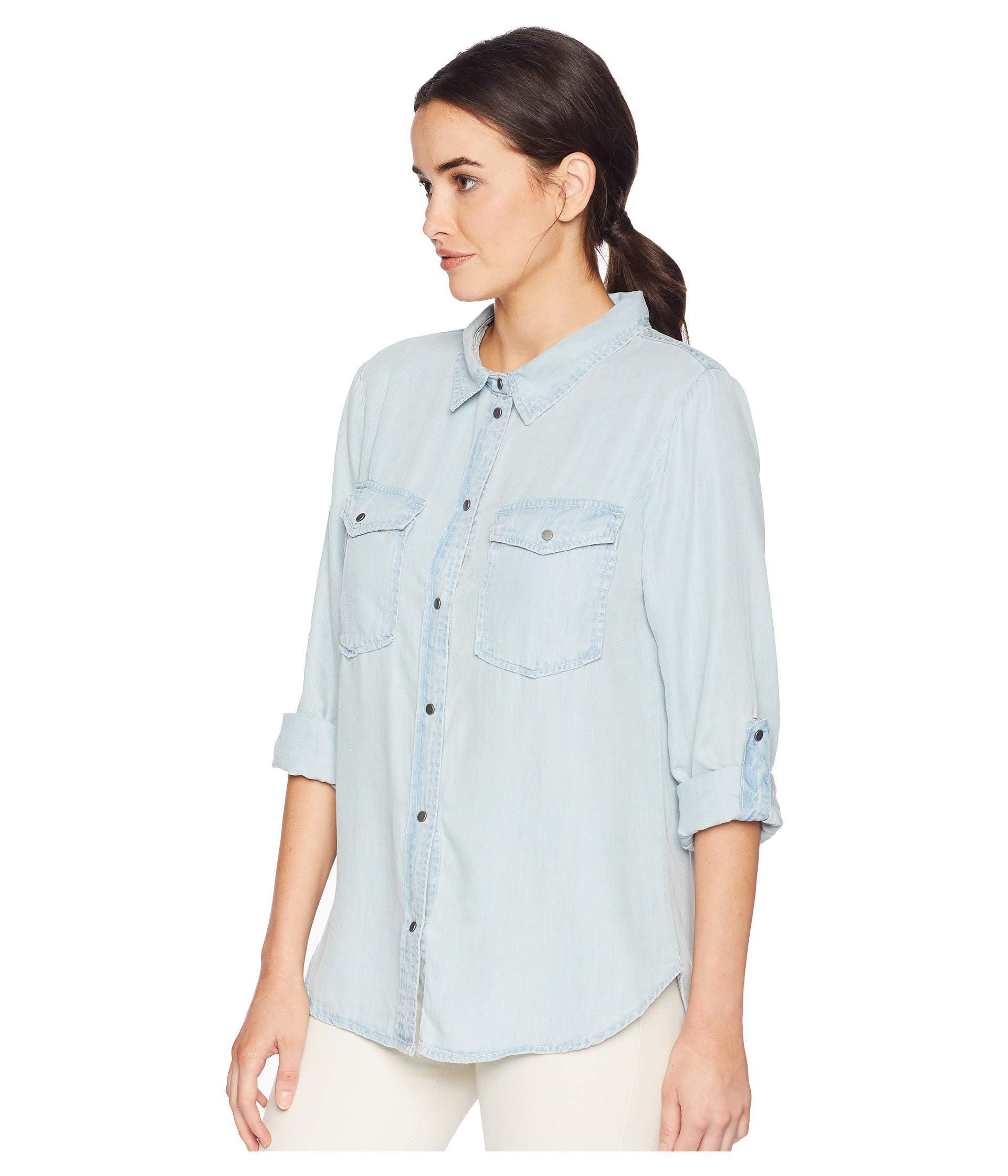 online store b9a36 70805 Jean Long Sleeve Shirt For Womens