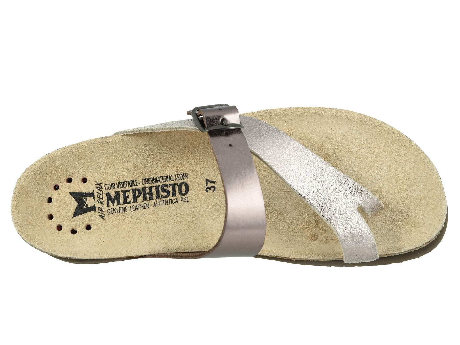 ef34d40f14 Lyst - Mephisto Helen Mix (black Waxy/cuba) Women's Sandals