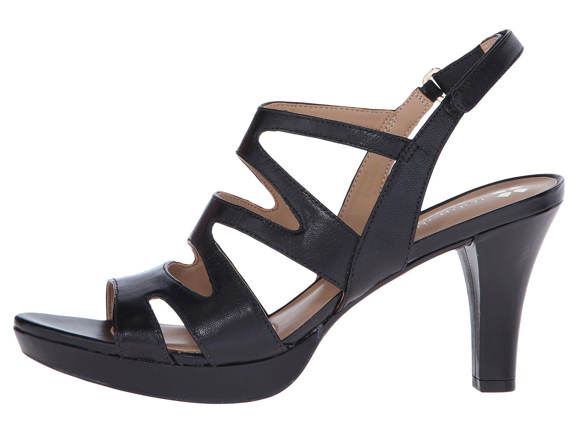 e31c1c6bebb0 Lyst - Naturalizer Pressley (taupe Leather) High Heels in Black