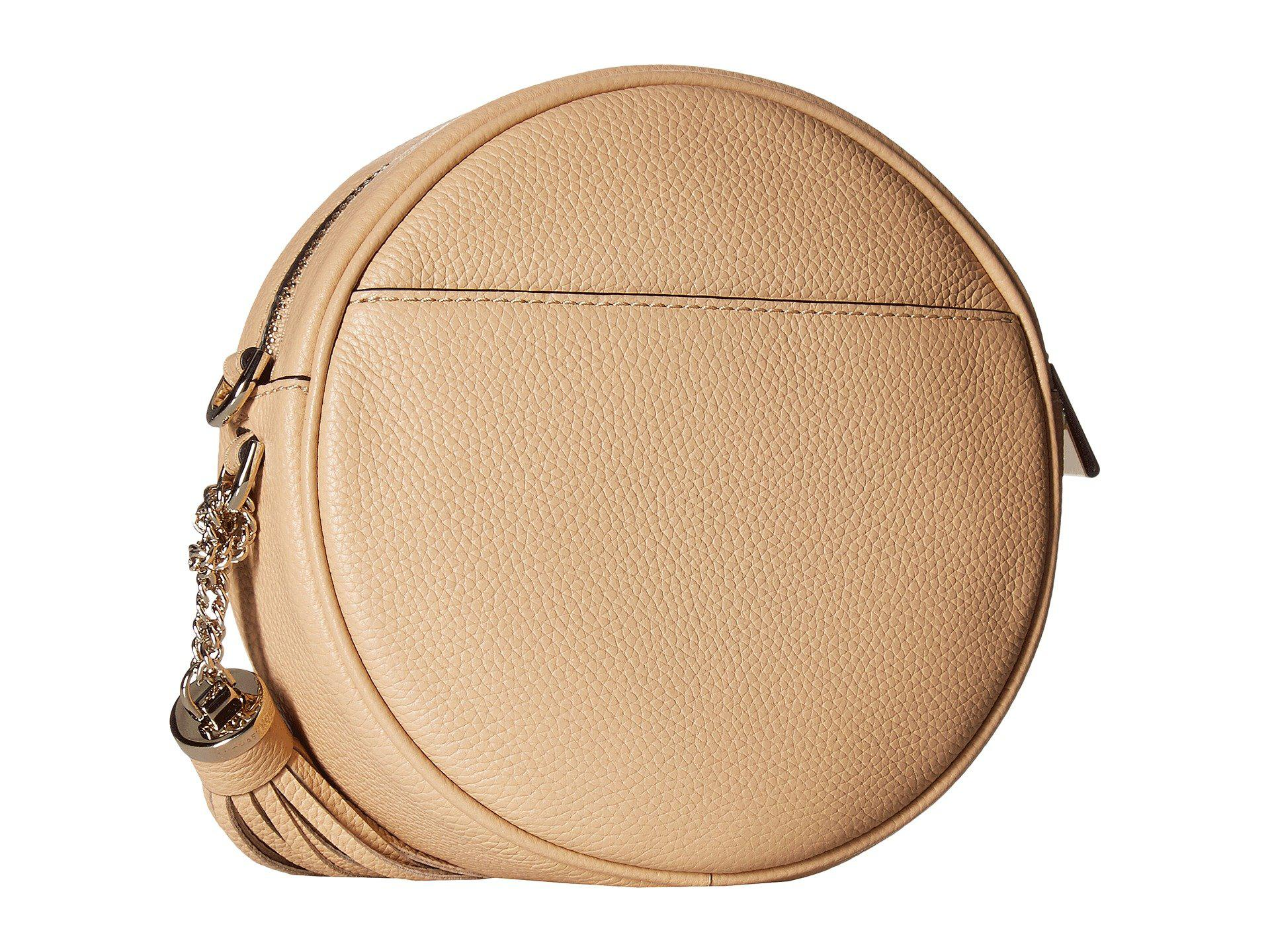 52d8742c1a520 ... coupon code michael michael kors natural medium canteen bag soft pink handbags  lyst. view fullscreen