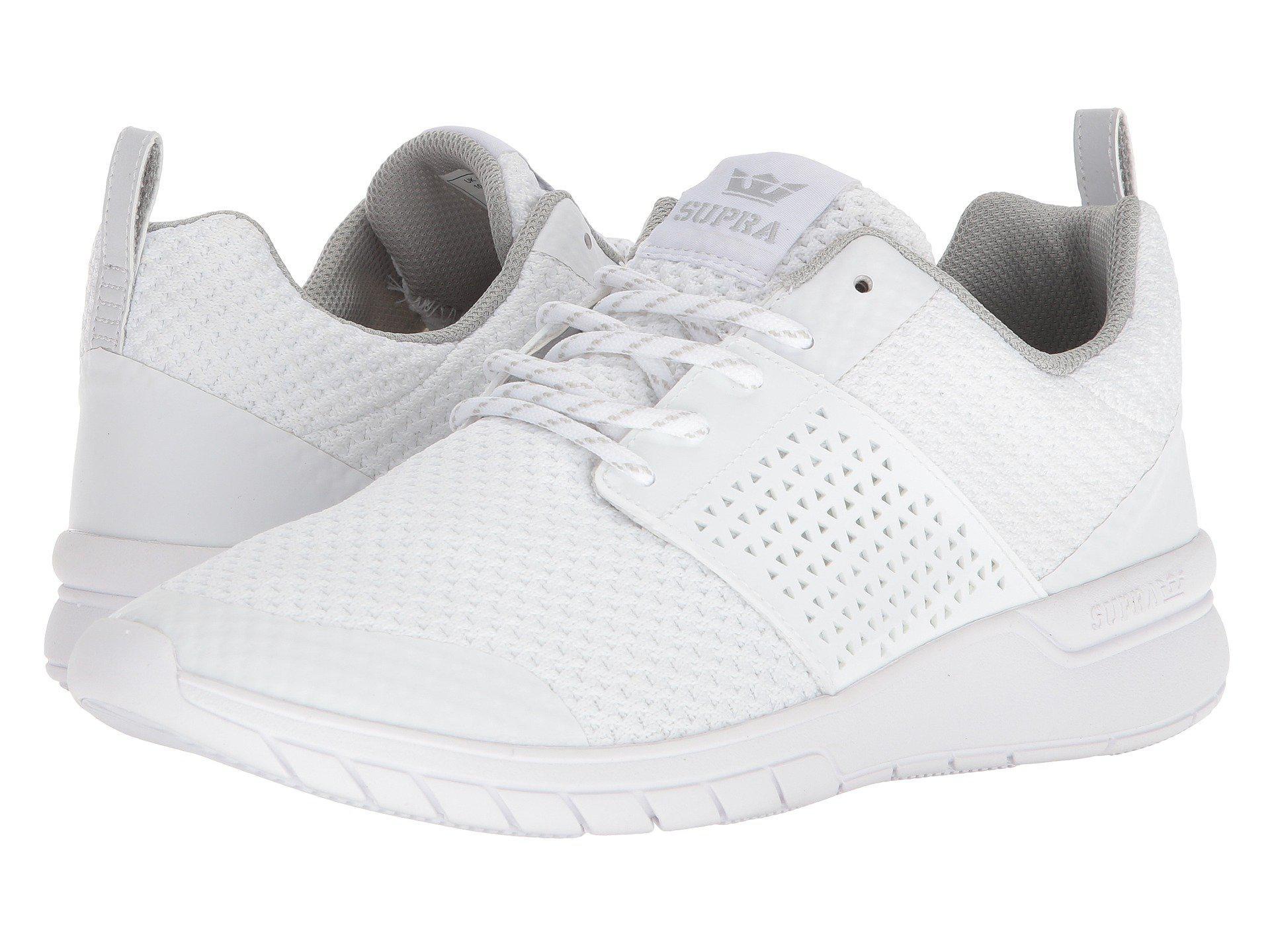 798cd5a90c36 Lyst - Supra Scissor (light Grey white) Men s Skate Shoes in White ...