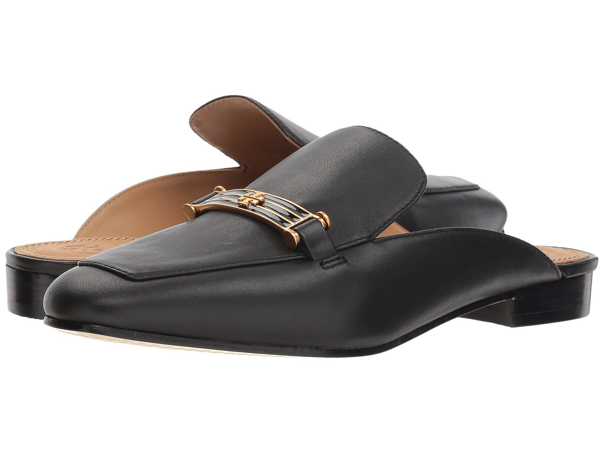29cc2451395 Lyst - Tory Burch Amelia Backless Loafer (perfect Black) Women s ...