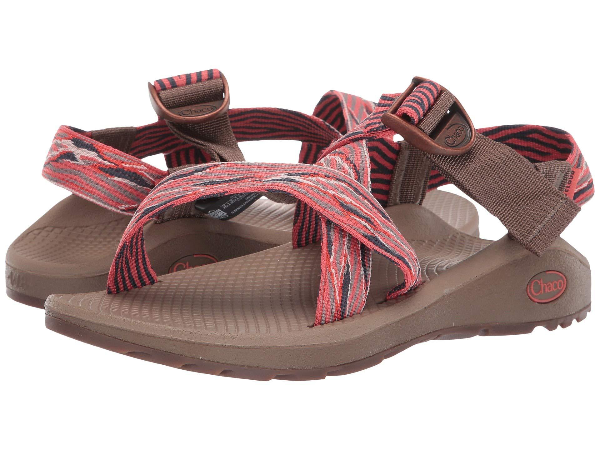 f2bfaa2d3179 Lyst - Chaco Mega Z Cloud (blend Grenadine) Women s Sandals