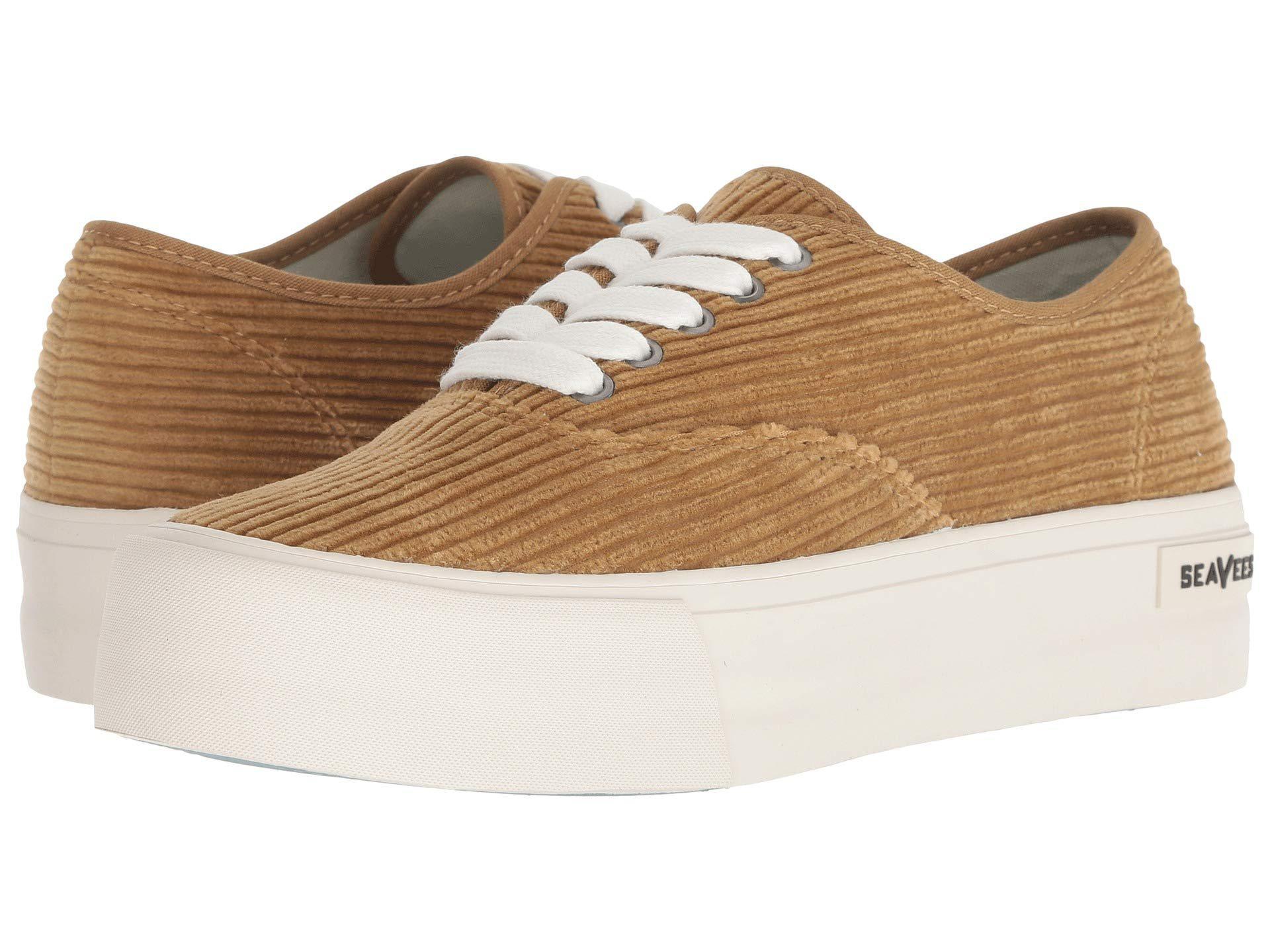20353a6fb15 Lyst - Seavees Legend Sneaker Platform (golden Brown) Women s Shoes ...