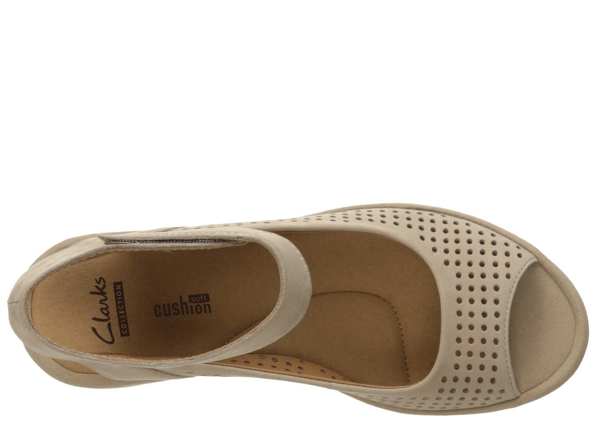 8f94133fff1 Clarks - Multicolor Reedly Salene (sand Nubuck) Women s Sandals - Lyst.  View fullscreen