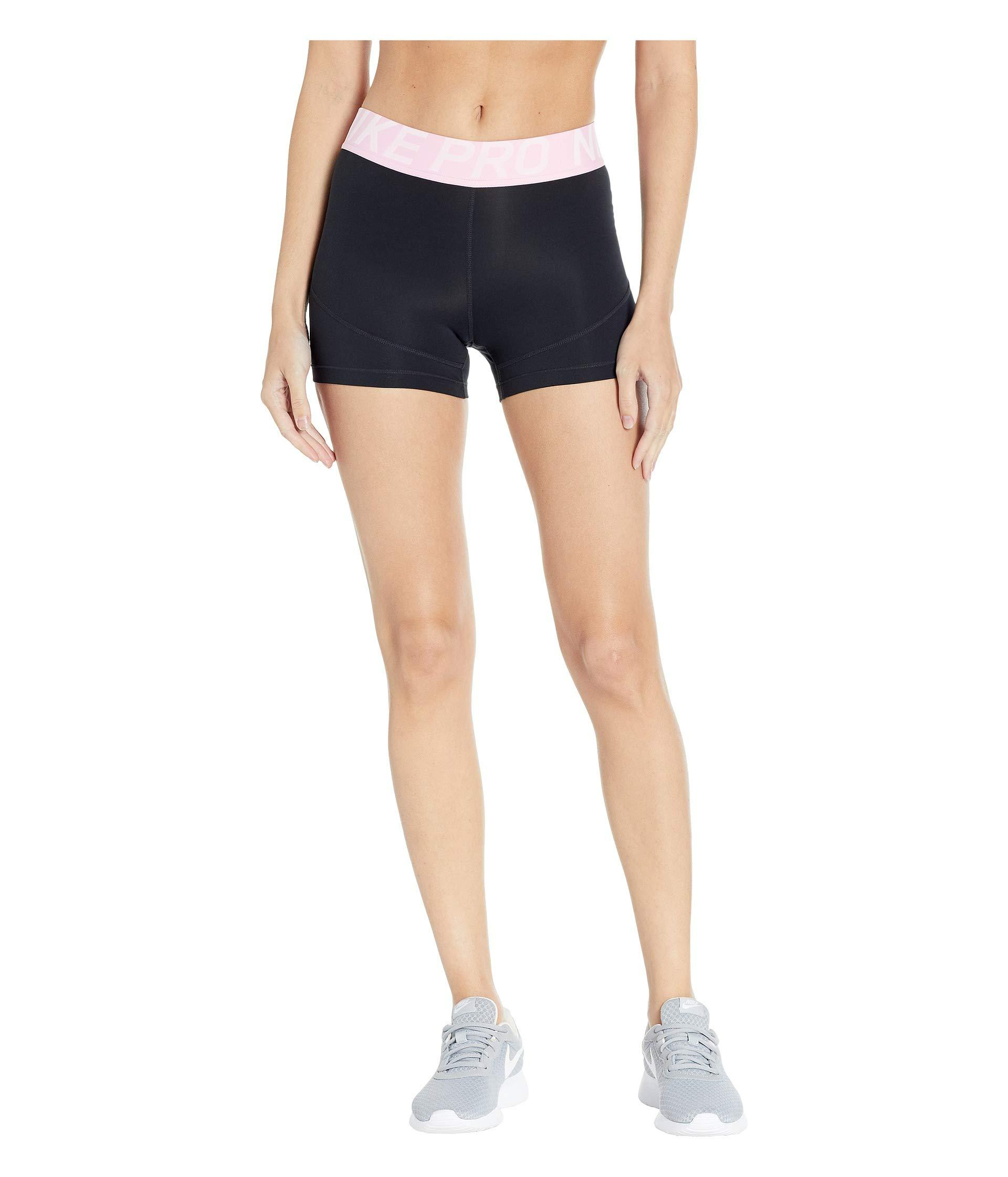 Tint Shorts 3 Nike blackteal Pro Black In Lyst Women's FqXaUw