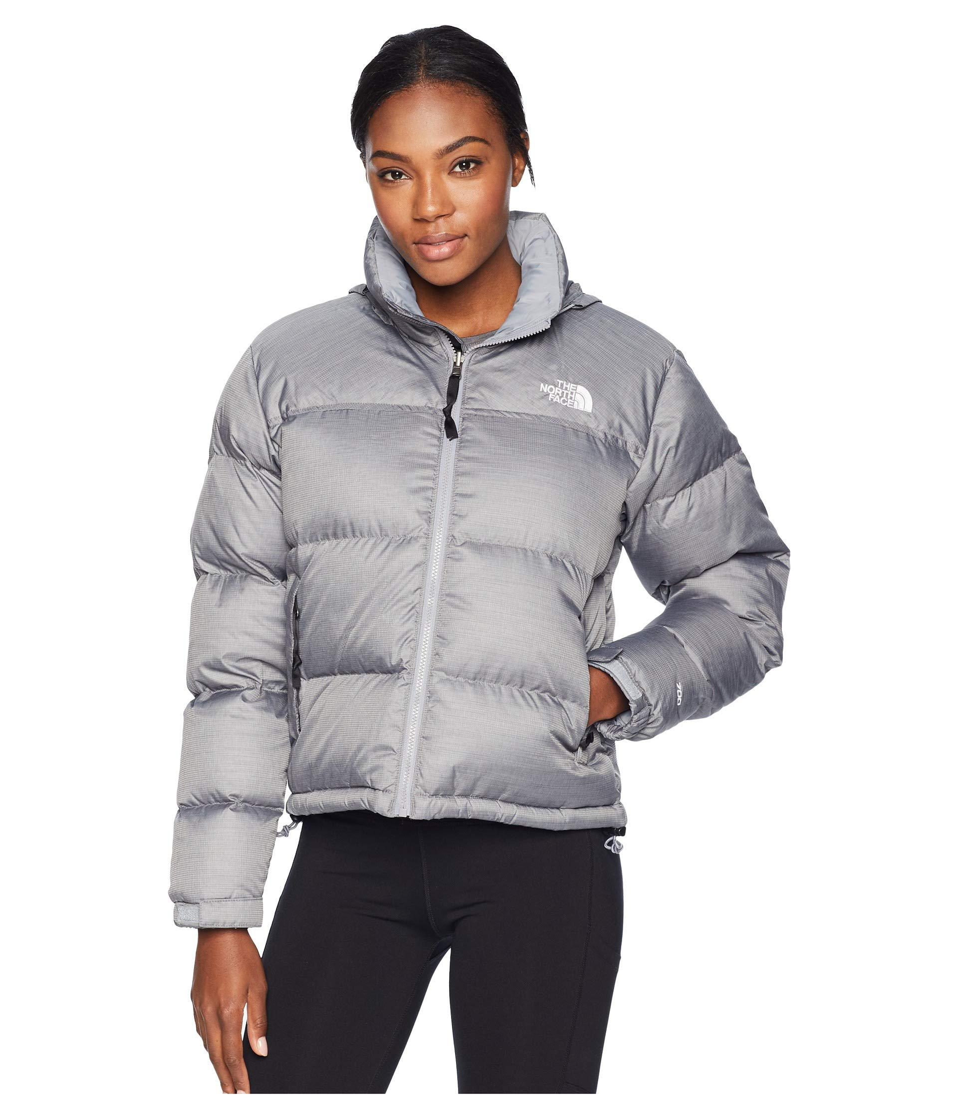 Lyst - The North Face 1996 Retro Nuptse Jacket (tnf White) Women s ... 70081f3dd