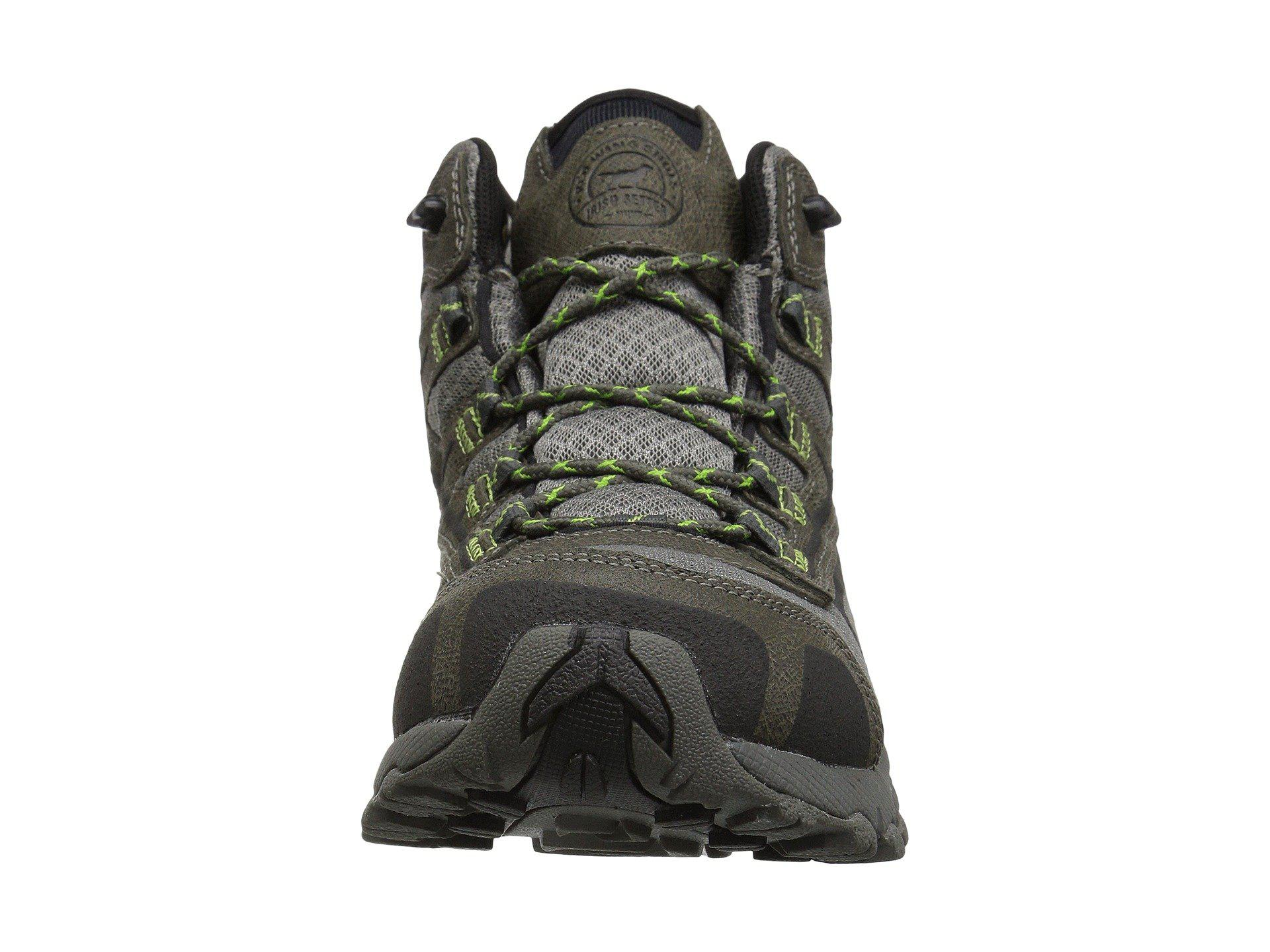 05c8395feb1 Irish Setter Multicolor Drifter 02814 (gray/lime Green) Men's Work Boots  for men