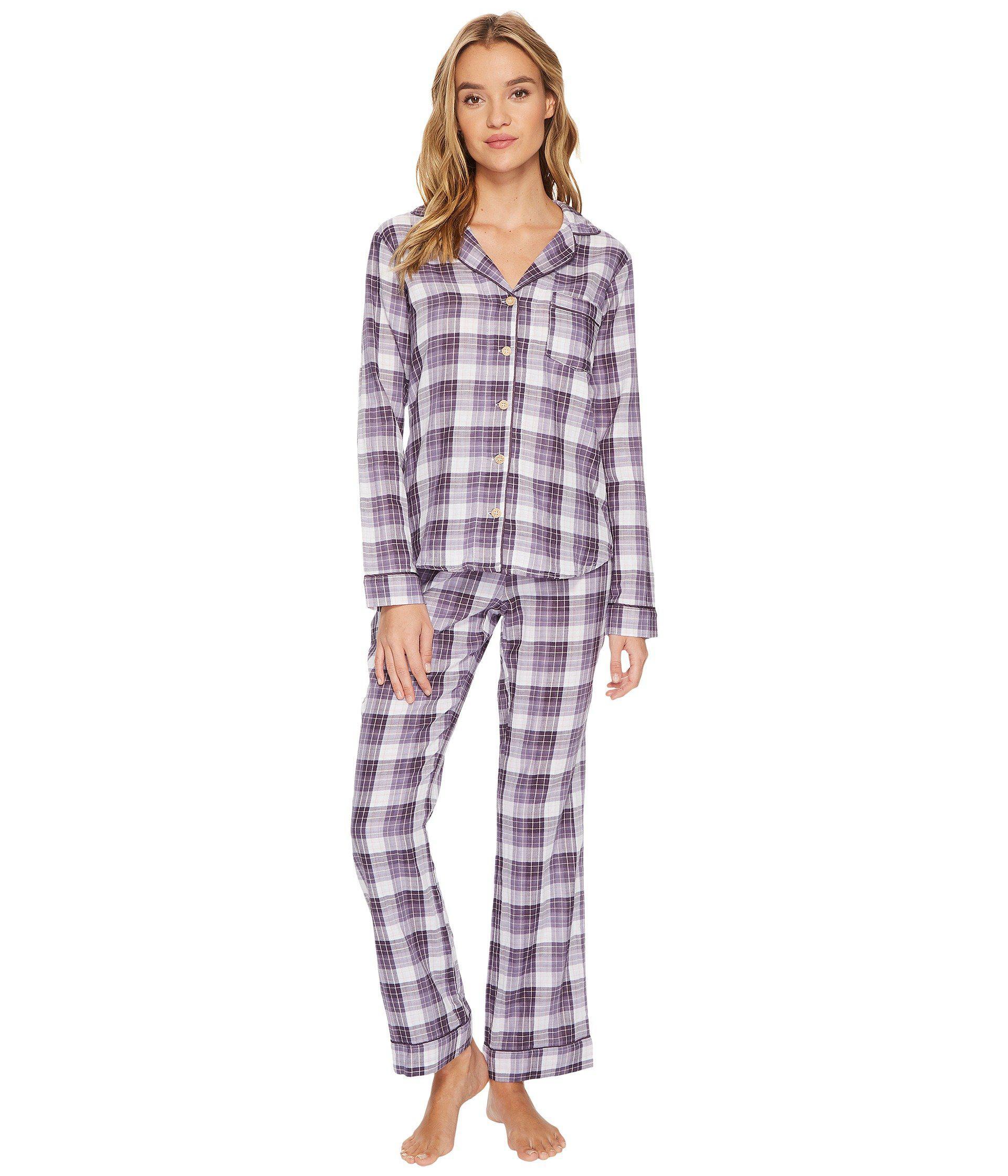 2a7ff21f3f Lyst - Ugg Raven Plaid Sleepwear Set