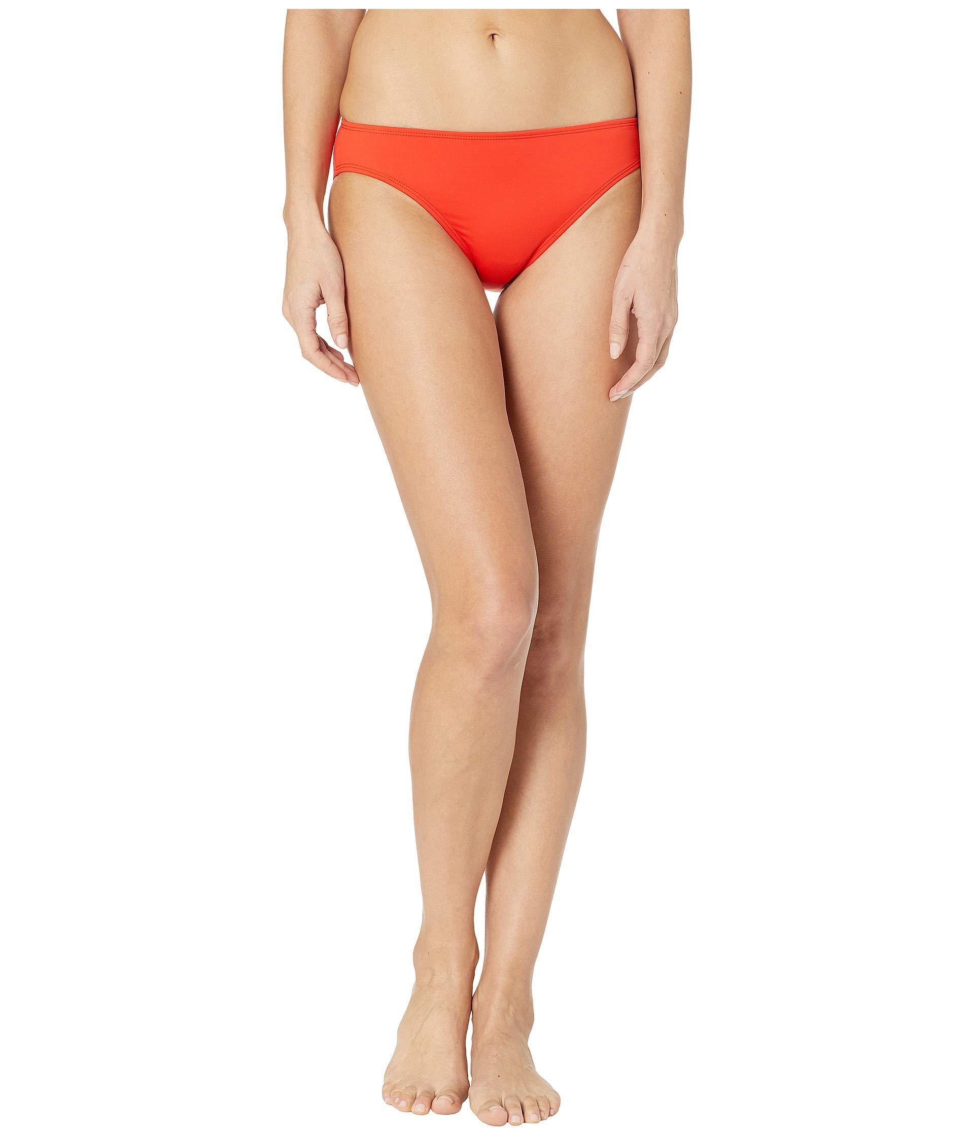 fc9e34a138377 Lauren by Ralph Lauren. Red Beach Club Solids Solid Hipster Bottoms (plum) Women's  Swimwear