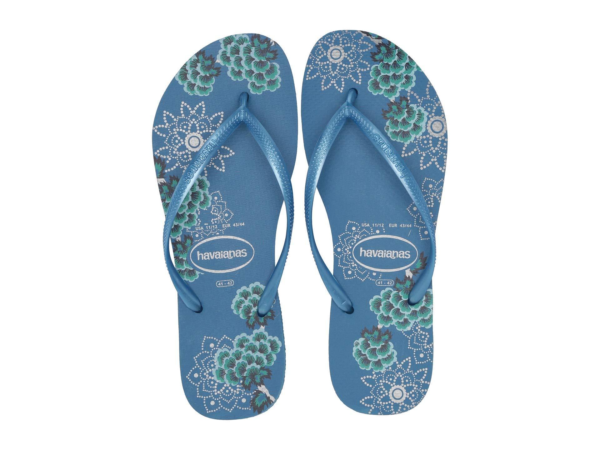 9c5be8cd5 Lyst - Havaianas Slim Organic Flip Flops (sand Grey) Women s Sandals ...