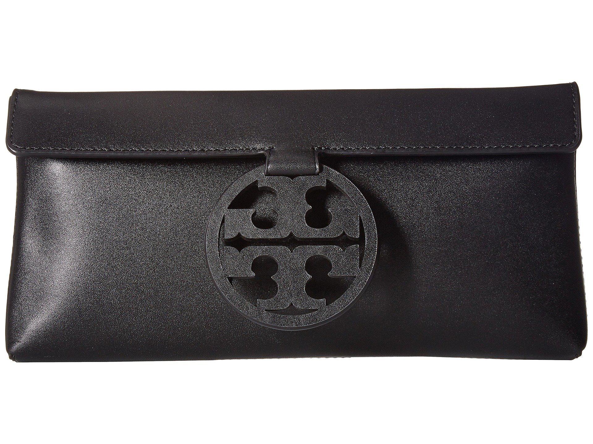 d101bbad4523 Lyst - Tory Burch Miller Clutch (black) Clutch Handbags in Black