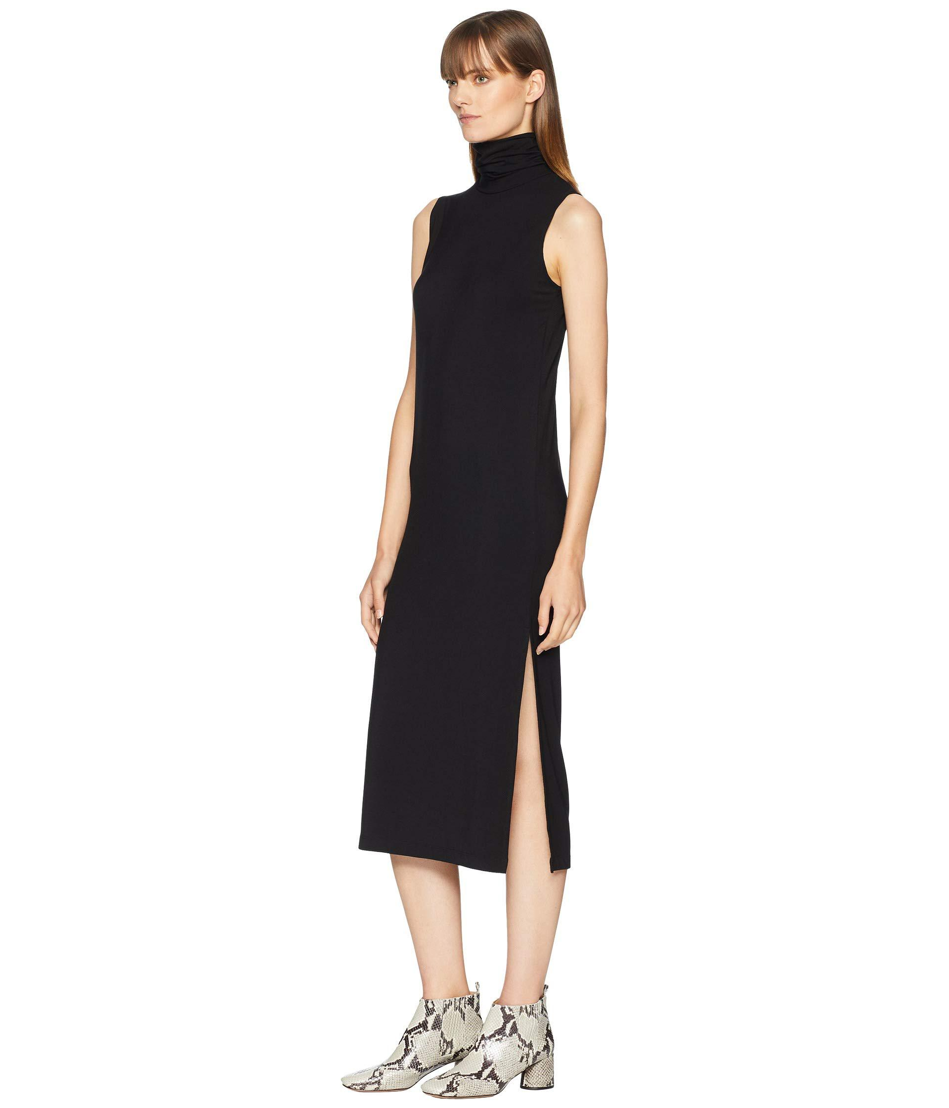 b0059a4d229 Lyst - Vince Sleeveless Turtleneck Dress (black) Women s Dress in Black -  Save 13.333333333333329%