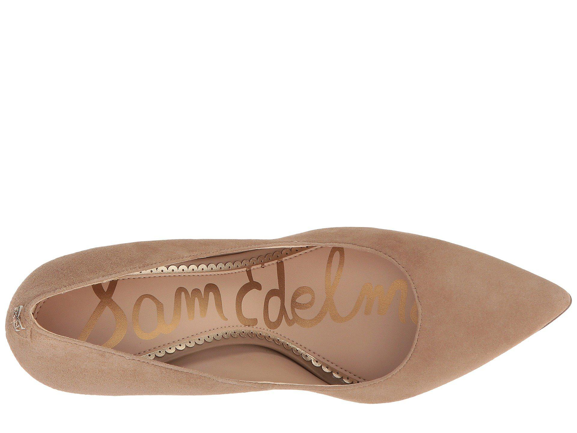 d6f411cf8a8 Sam Edelman - Brown Hazel (rose Gold Mini Glitter) Women s Shoes - Lyst.  View fullscreen