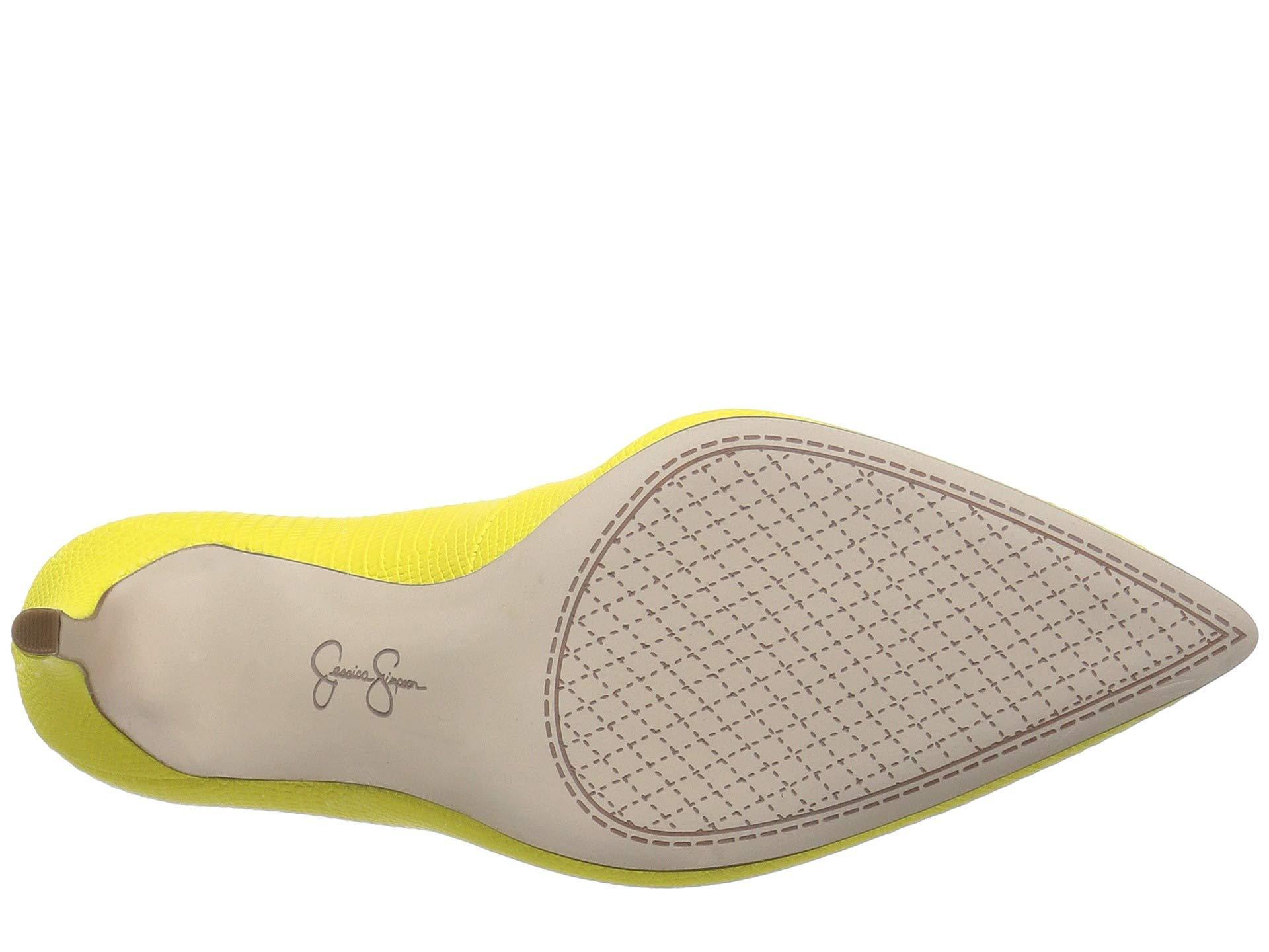 1db7342da32 Jessica Simpson - Yellow Praylee (black Soft Nappa Silk) High Heels - Lyst.  View fullscreen