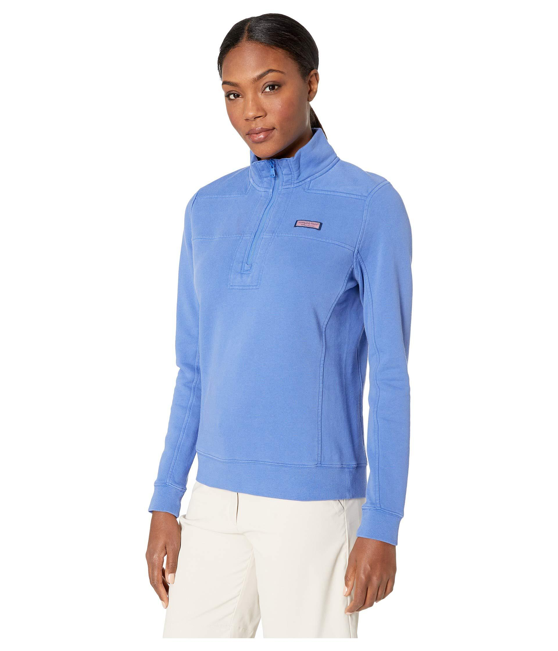63452e9f894a1 Lyst - Vineyard Vines Garment Dyed Shep Pullover (marlin) Women s Clothing  in Blue