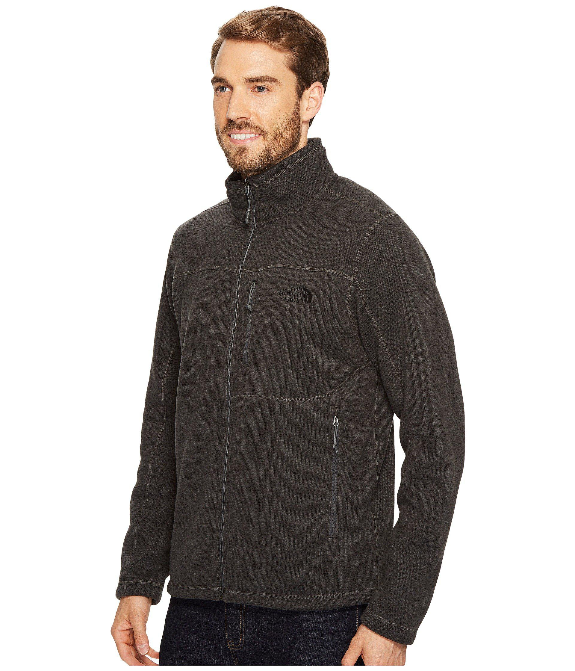 67121a3d1a09 Lyst - The North Face Gordon Lyons Full Zip (tnf Black Heather 1) Men s  Jacket in Gray for Men