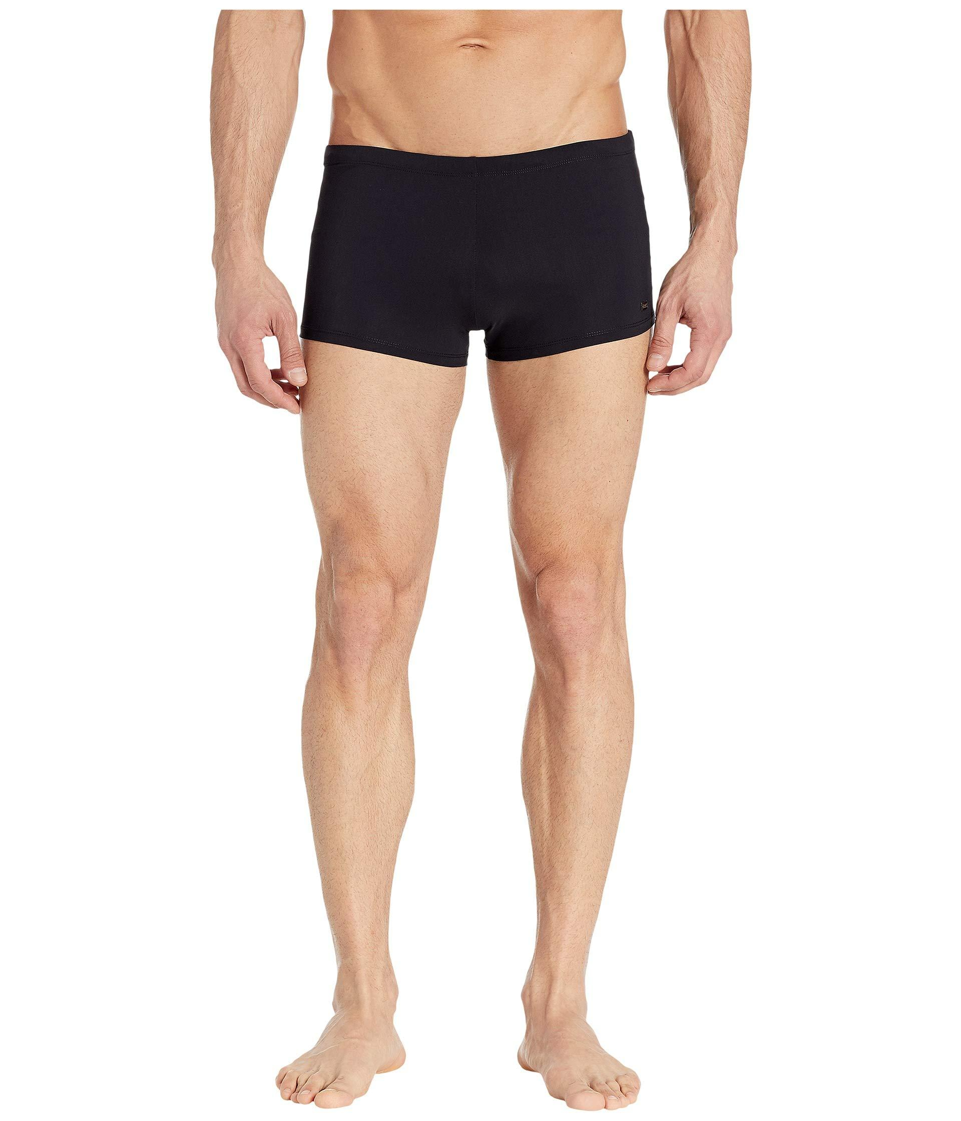 eb61e7172a Lyst - BOSS Oyster Swim Trunks (black) Men's Swimwear in Black for Men