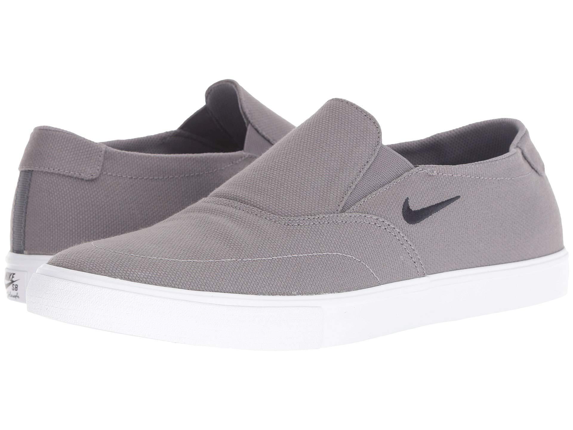 b747159ca1b Nike. Blue Portmore Ii Solarsoft Slip (gunsmoke obsidian white) Men s Skate  Shoes