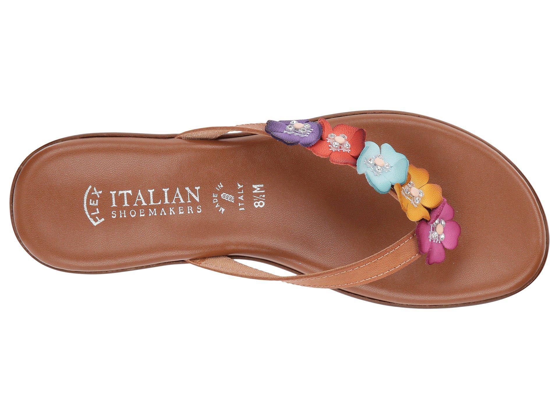 ecb40bdbce9fb Lyst - Italian Shoemakers Emina (bright Multi) Women s Shoes in Brown