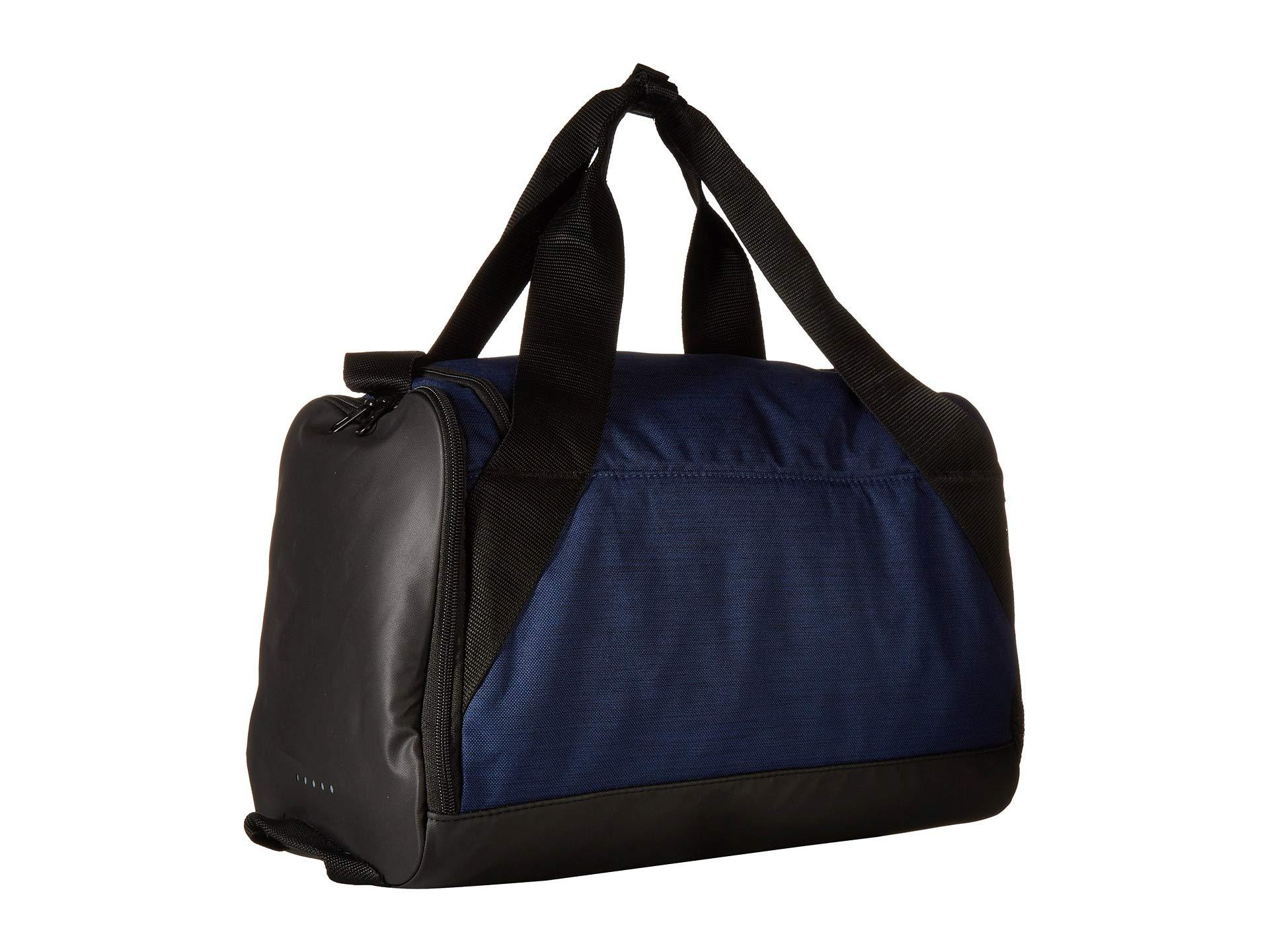 Nike - Blue Brasilia Extra Small Training Duffel Bag (black black white).  View fullscreen 28e15732eb9cf