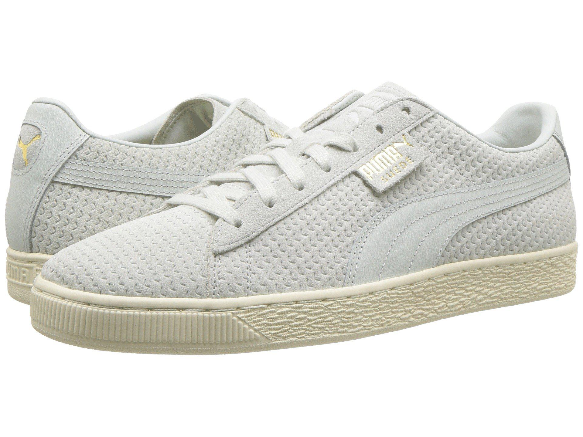 Lyst - PUMA Suede Classic Perforation for Men 7b16cda60