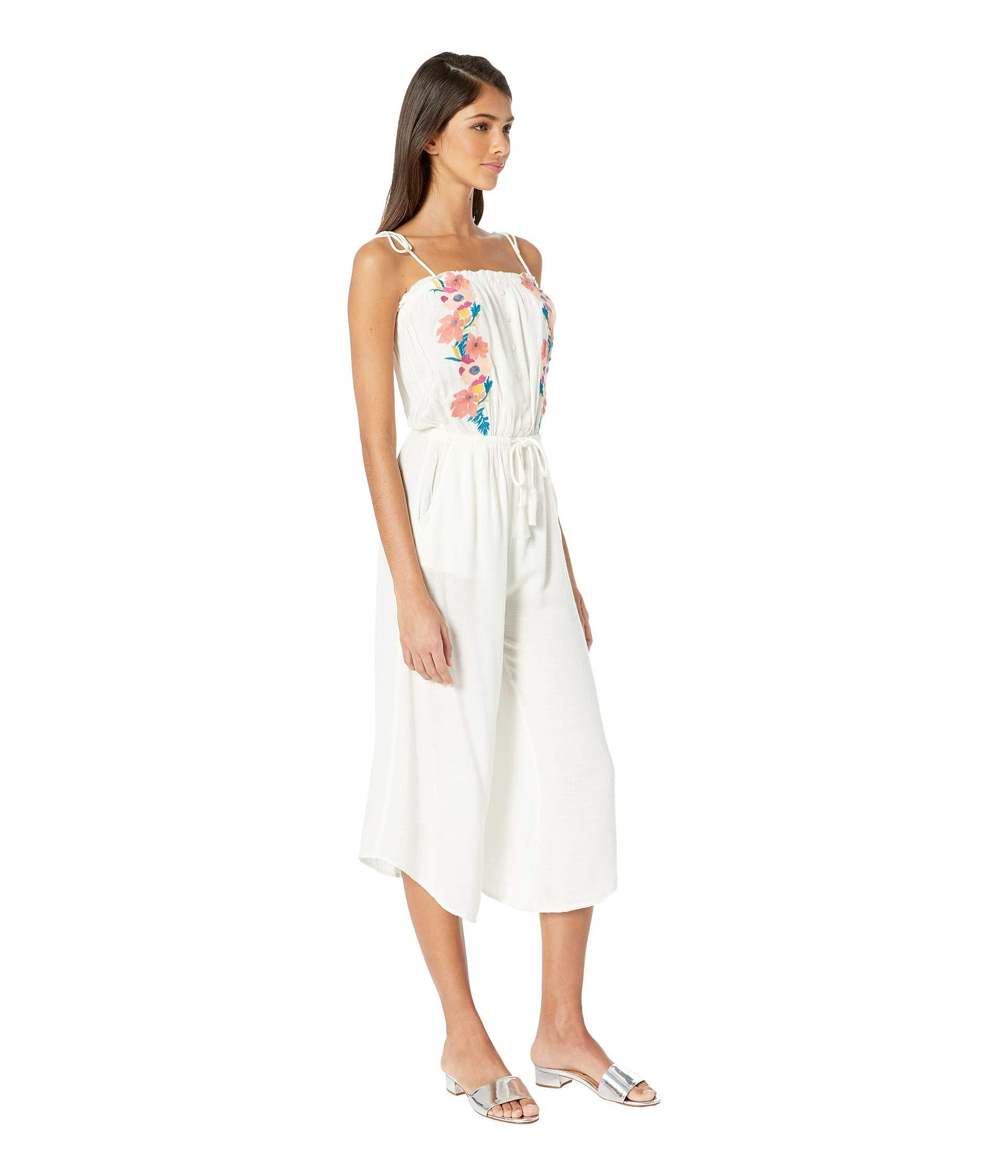 4b655fecce64 Rip Curl - White Cali Dreaming Jumpsuit (vanilla) Women s Jumpsuit   Rompers  One Piece. View fullscreen
