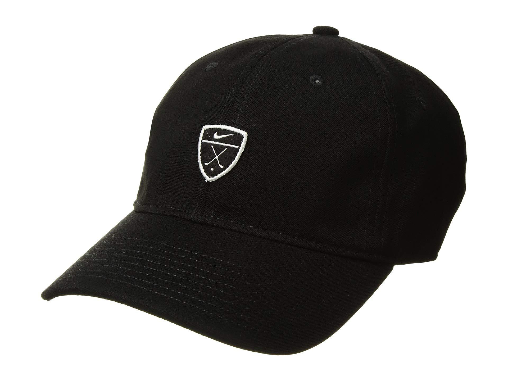 326c927d4fb Nike. Men s H86 Novelty (charcoal Heather charcoal Heather black) Baseball  Caps