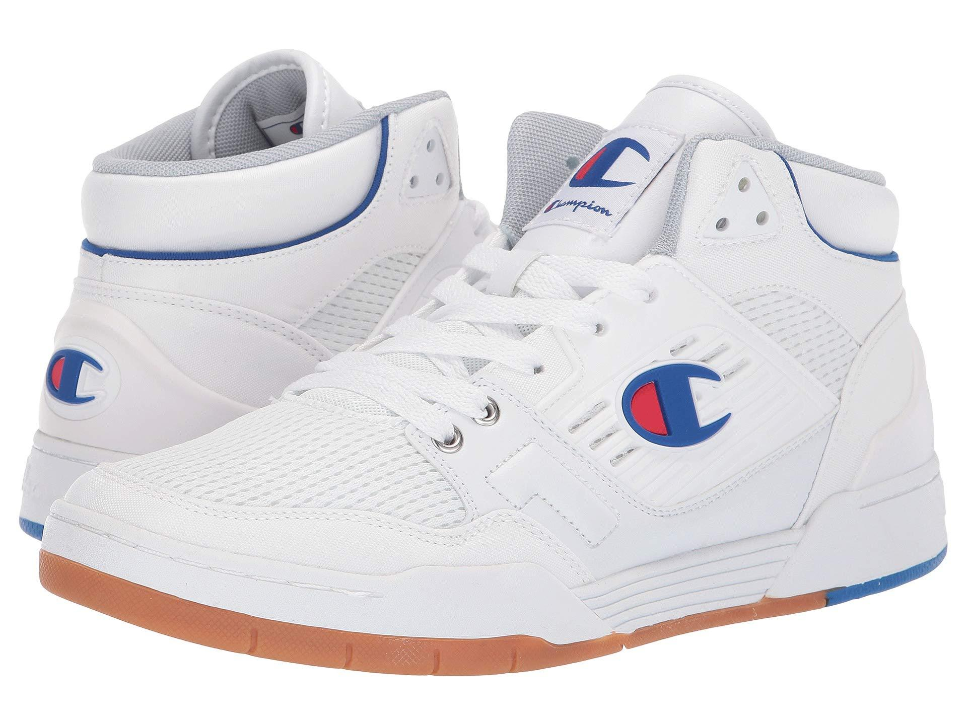 c19b674d996 Lyst - Champion 3 On 3 Sp (red) Men s Classic Shoes in White for Men
