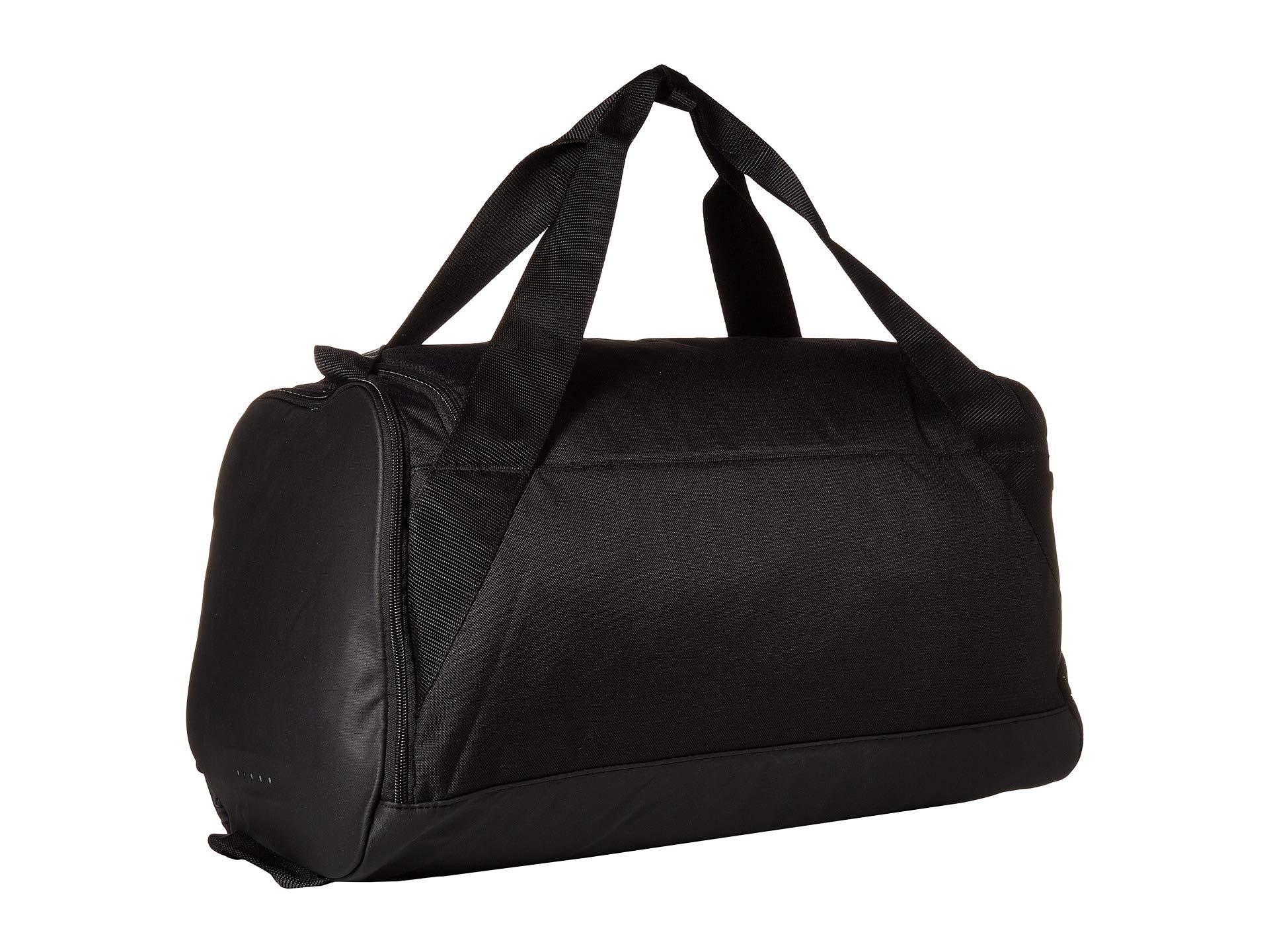 46a62c0e3b Nike - Brasilia Small Training Duffel Bag (green Abyss black white) Duffel.  View fullscreen