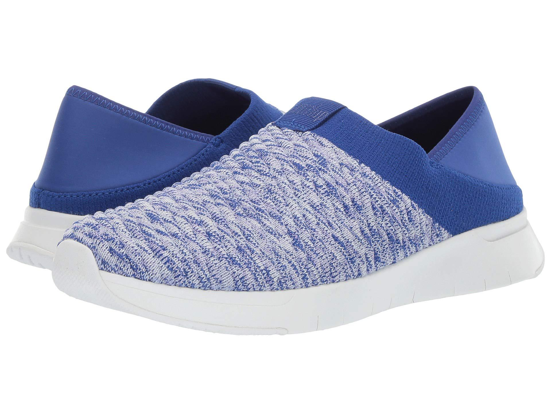 8ed0a75a0d9 Lyst - Fitflop Artknit Sneaker (illusion Blue) Women s Shoes in Blue ...