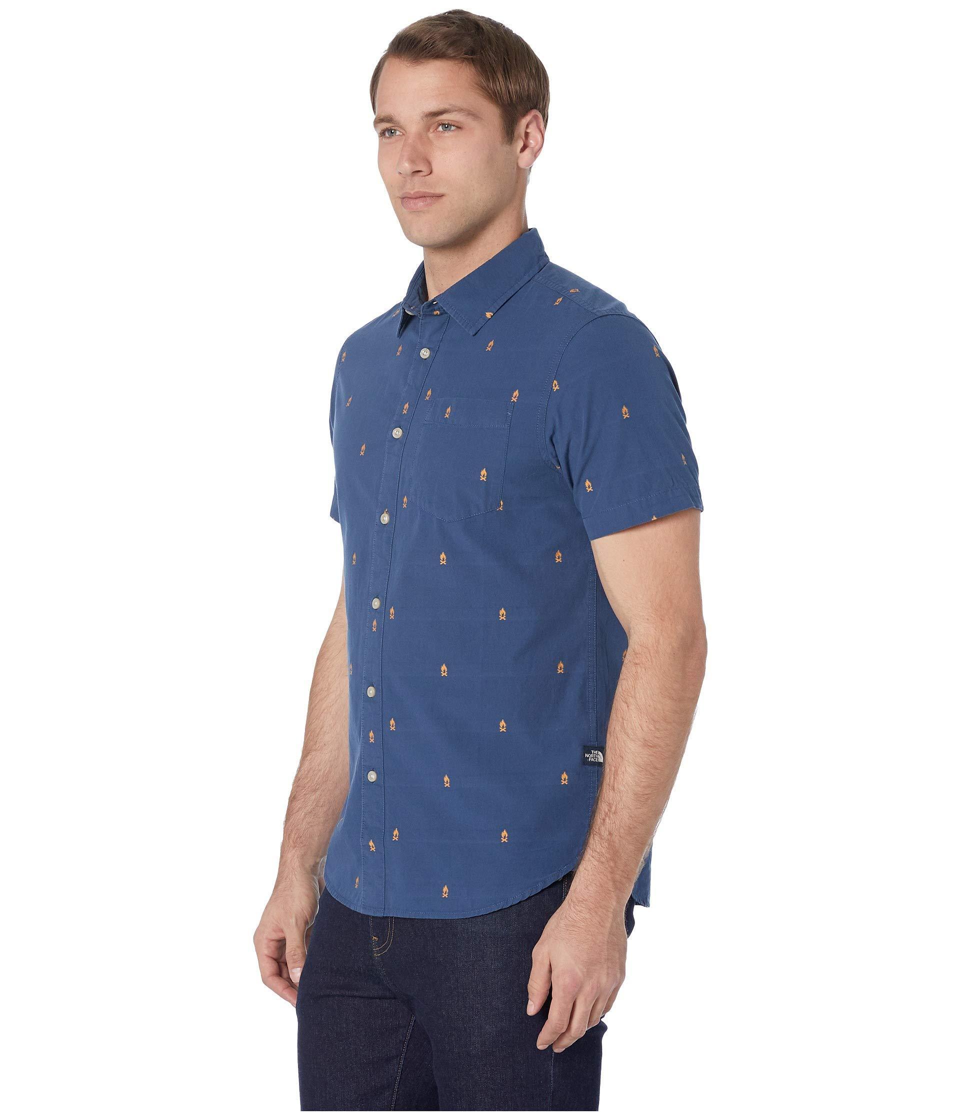 e5de89bd5 Lyst - The North Face Short Sleeve Baytrail Jacquard Shirt (vintage ...